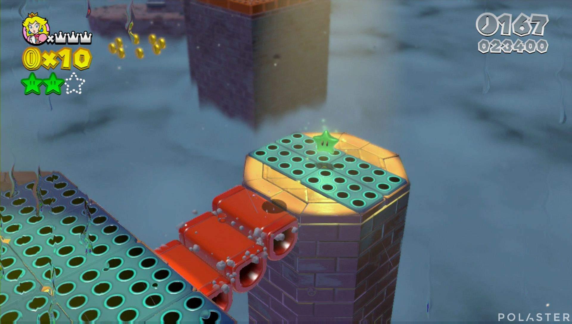 Super Mario 3D World Mundo Flor-11 Estrella 3