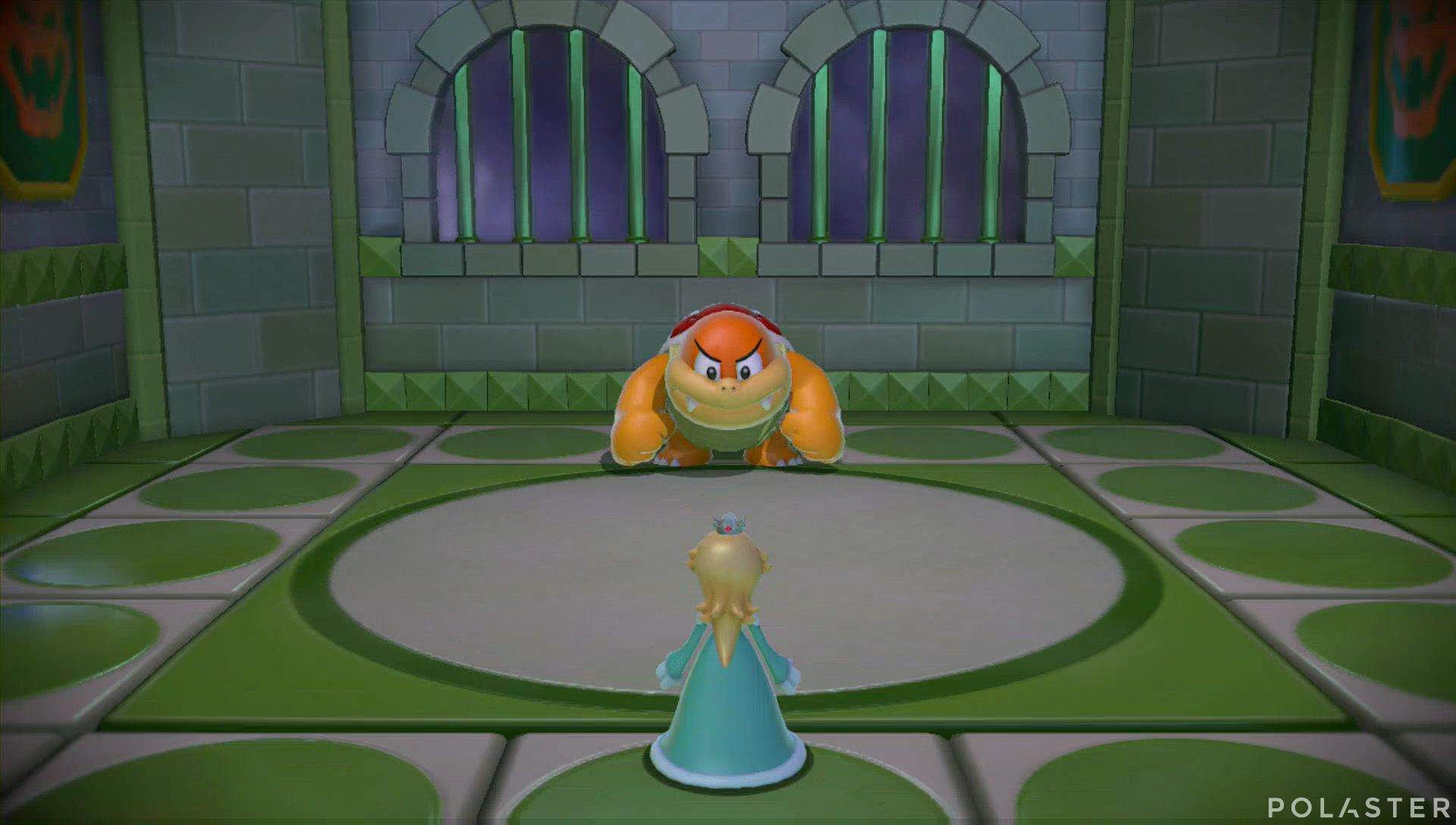 Super Mario 3D World Mundo Flor-12 Jefe Bum Bum