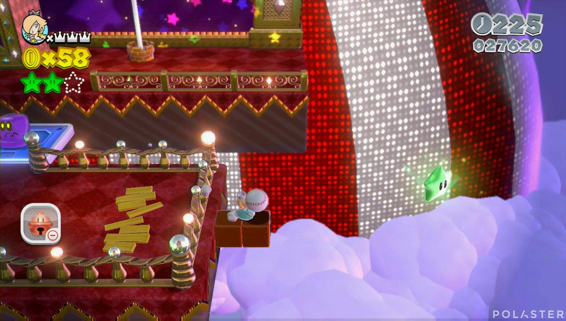 Super Mario 3D World Mundo Flor-1 Estrella 3
