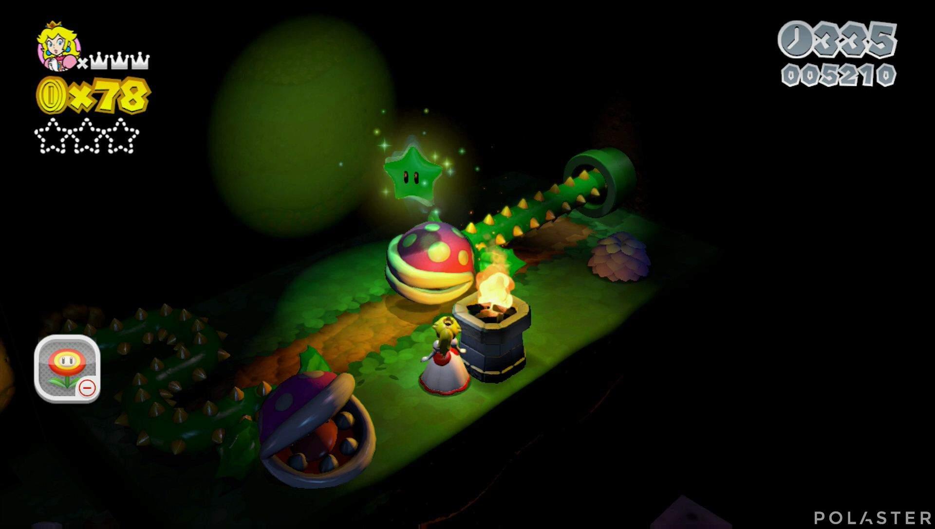 Super Mario 3D World Mundo Flor-3 Estrella 1