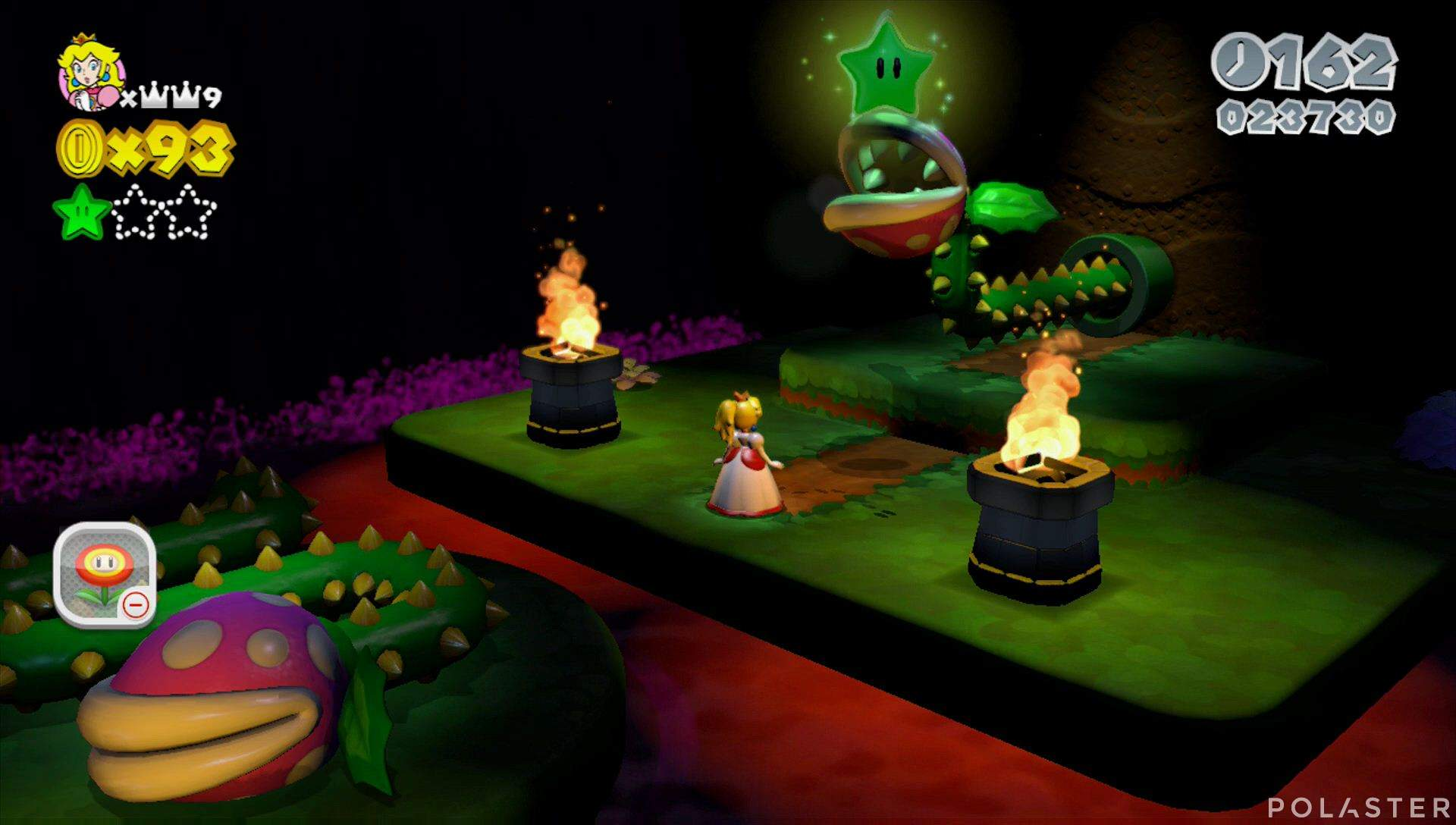 Super Mario 3D World Mundo Flor-3 Estrella 2