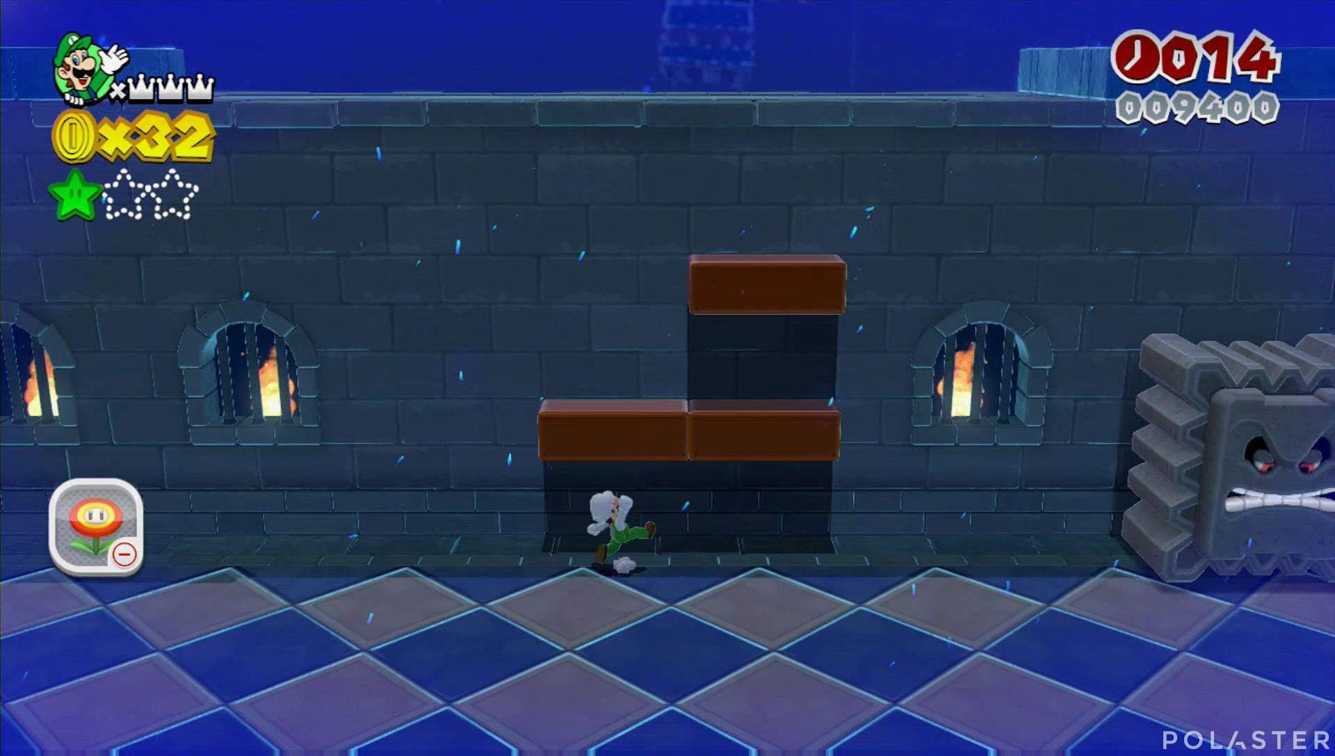 Super Mario 3D World Mundo Flor-4 Estrella 2