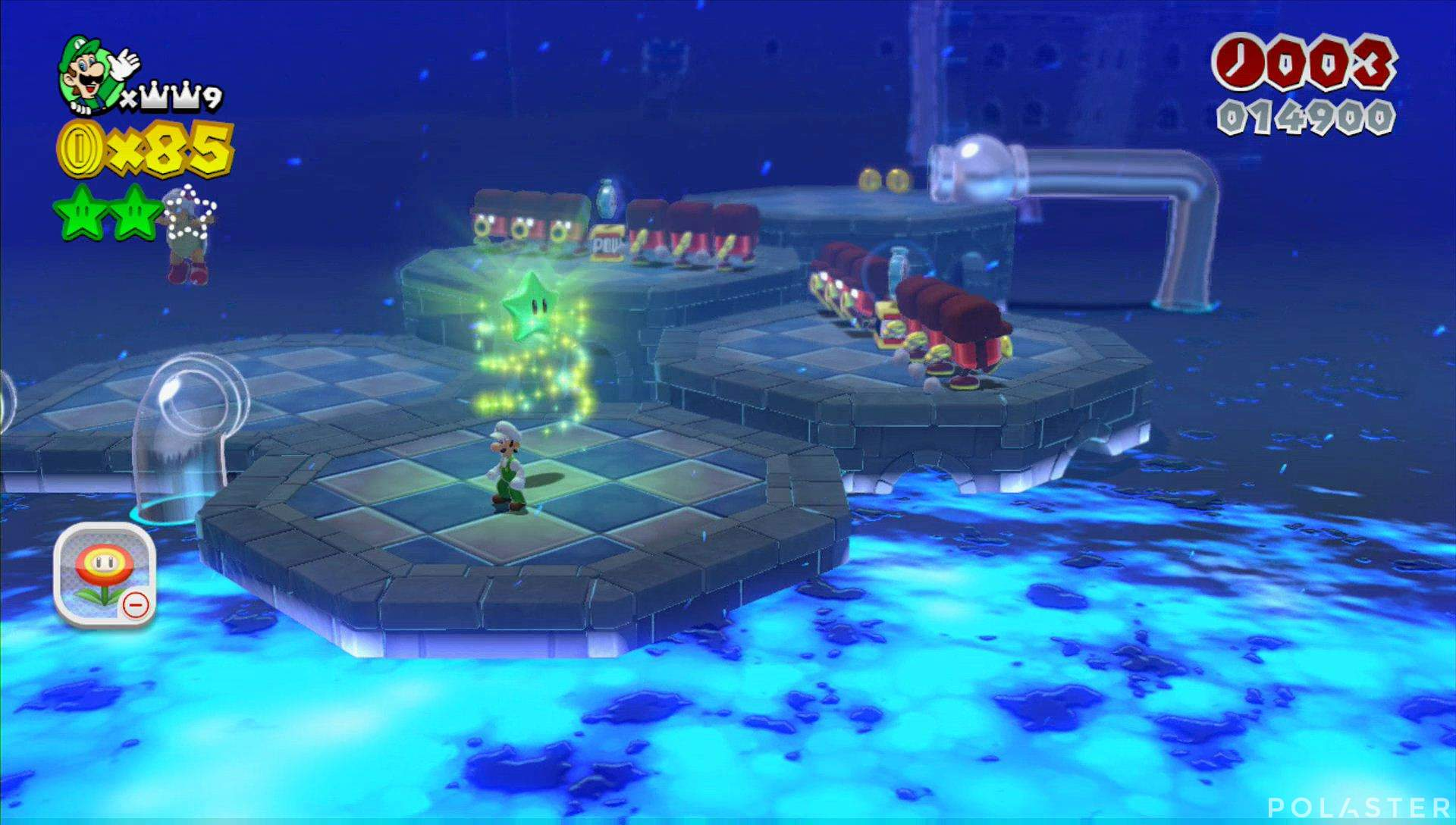 Super Mario 3D World Mundo Flor-4 Estrella 3