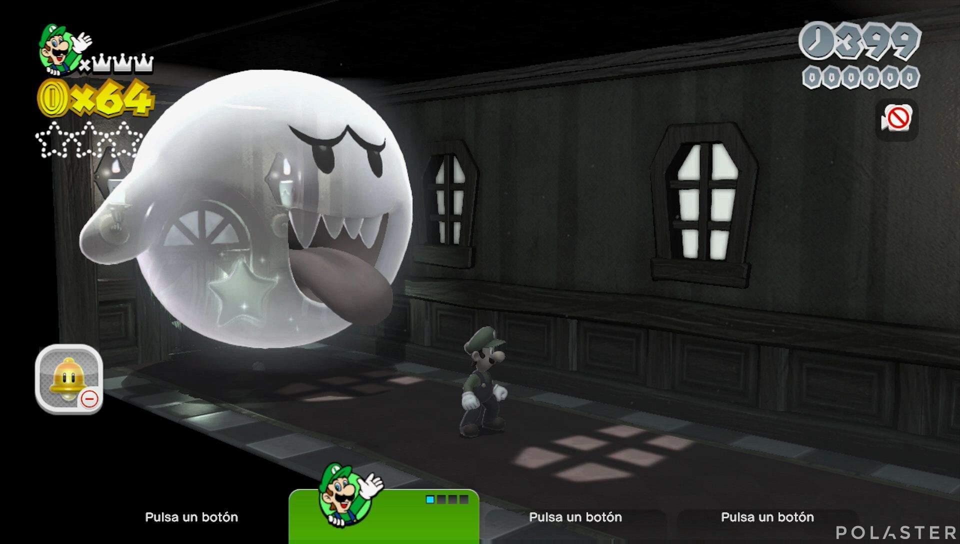 Super Mario 3D World Mundo Flor-6 Estrella 1