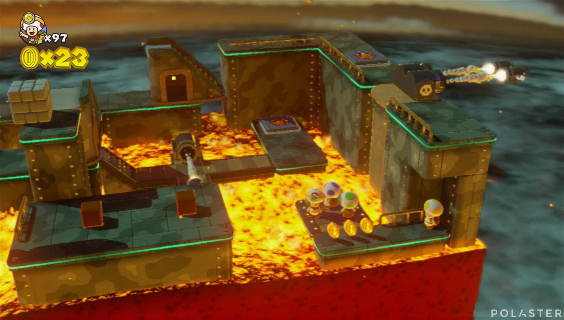 Captain Toad: Treasure Tracker Extra: ¡Cuadrilla, a la base giratoria! Toad amarillo