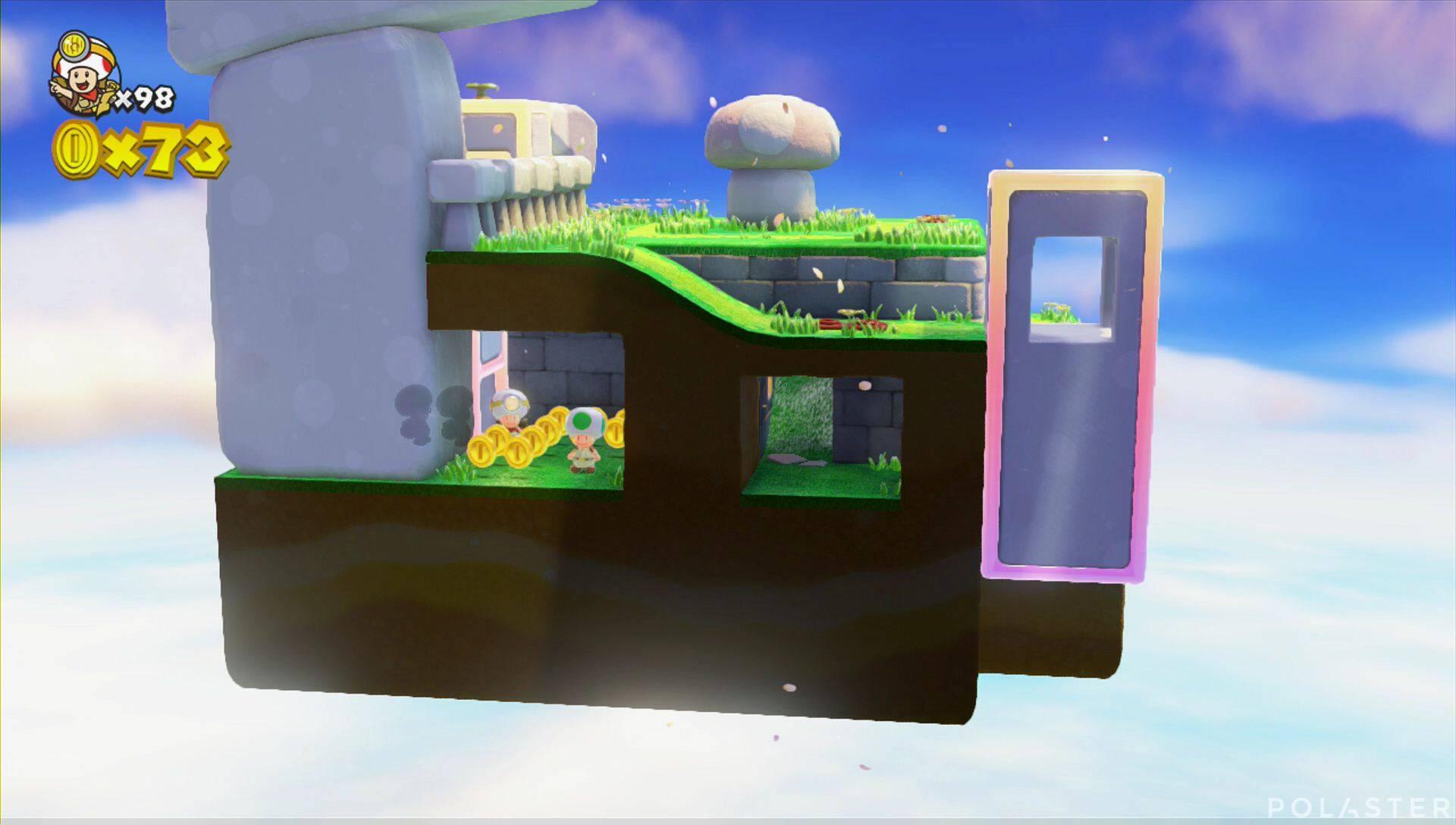 Captain Toad: Treasure Tracker Extra ¡Cuadrilla, a la meseta! Toad verde