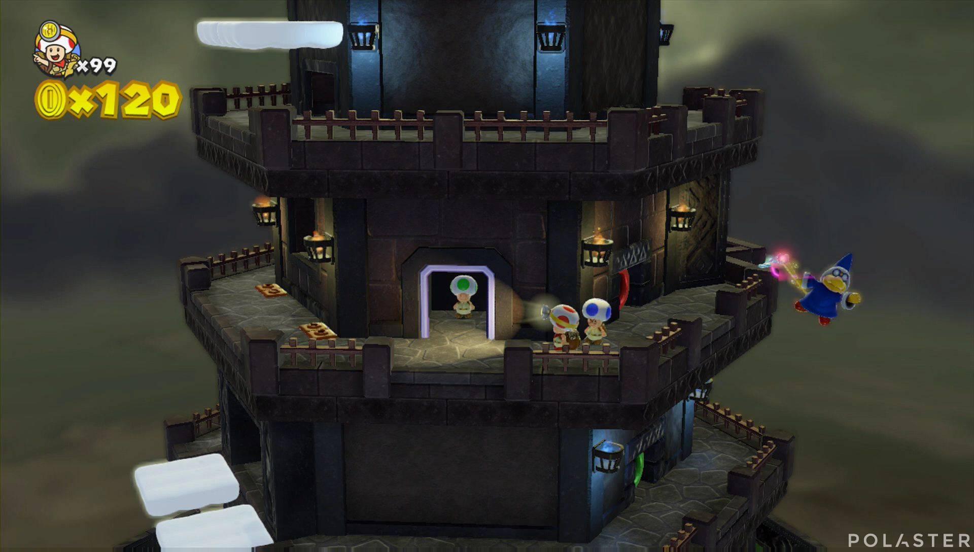 Captain Toad: Treasure Tracker Extra: ¡Cuadrilla, a la torre insólita! Toad verde