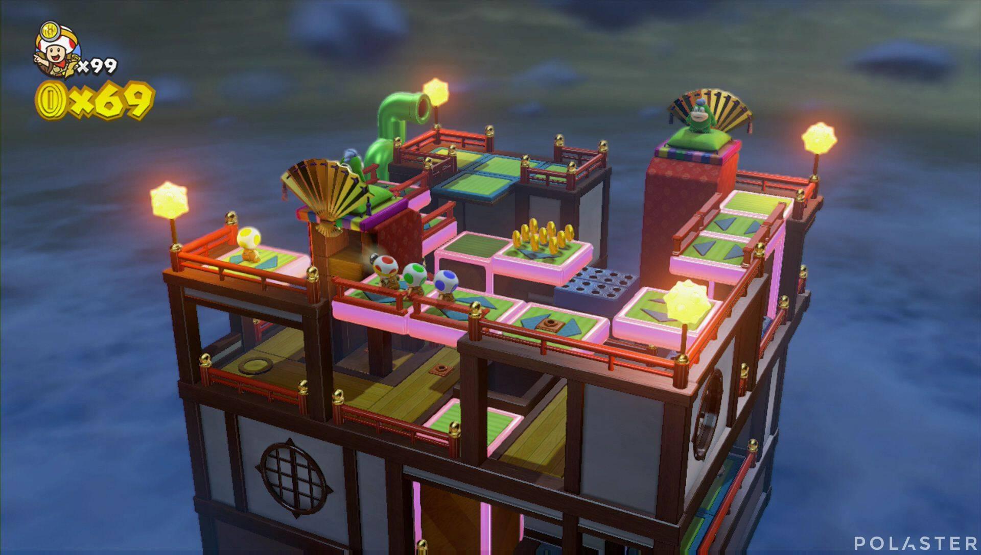 Captain Toad: Treasure Tracker Extra: ¡Cuadrilla, a los tejados! Toad amarillo