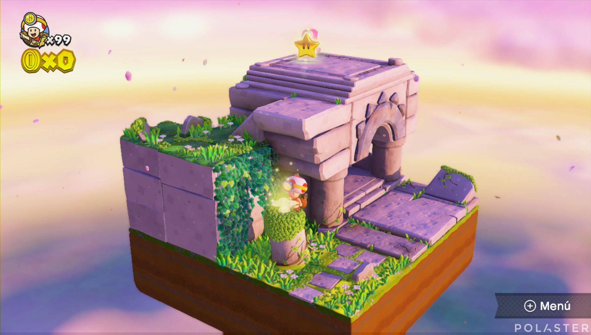 Captain Toad: Treasure Tracker - Extra: Prólogo de la parte 2 Champión dorado
