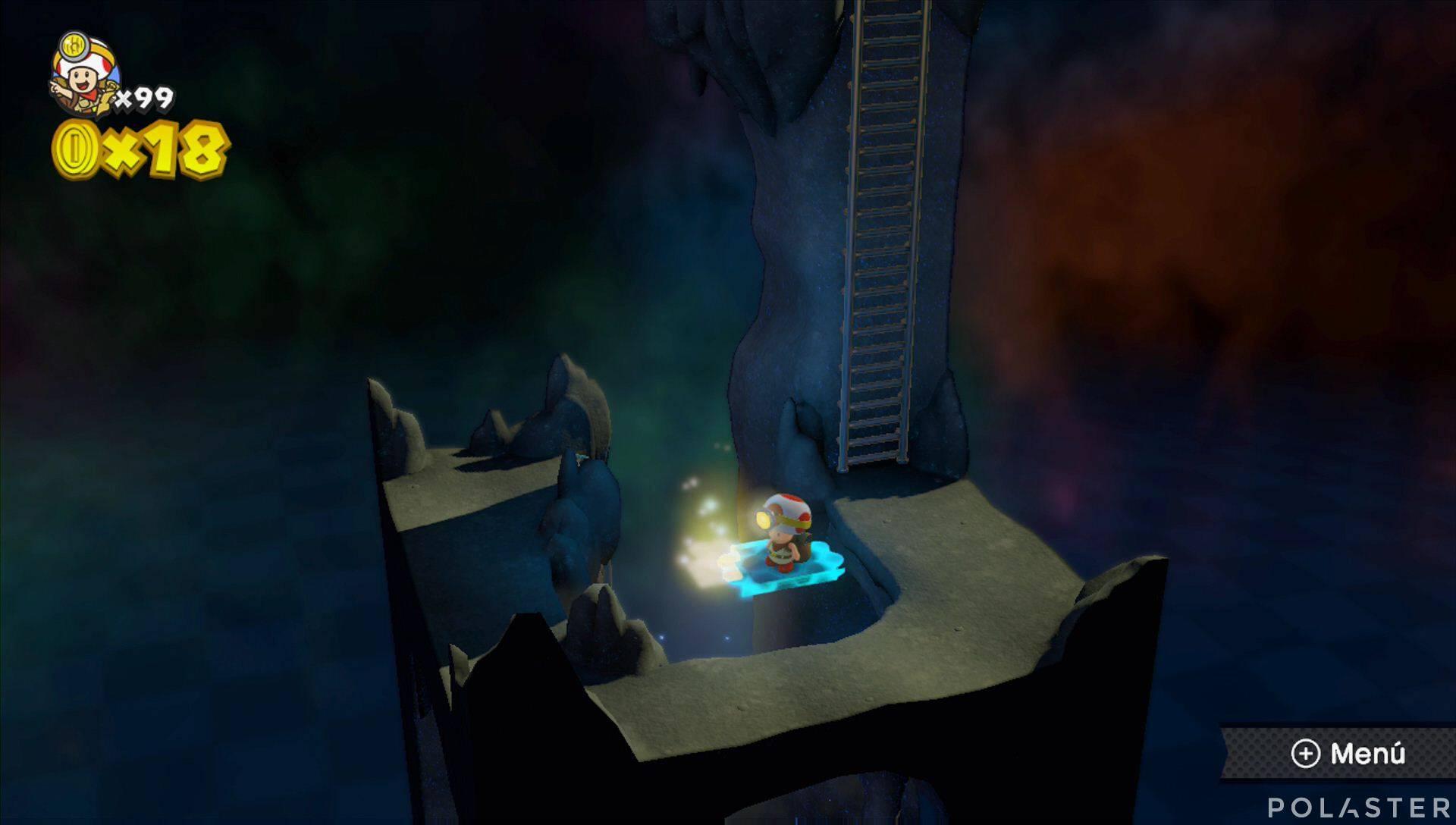 Captain Toad: Treasure Tracker - Extra: Prólogo de la parte 3 Champiñón dorado