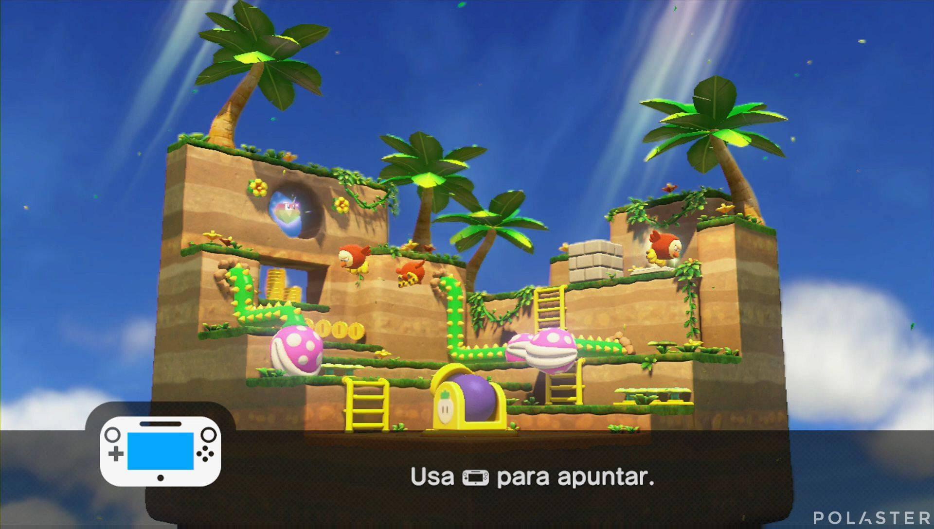 Captain Toad: Treasure Tracker Parte 1 Nivel 13 Superdiamante 2