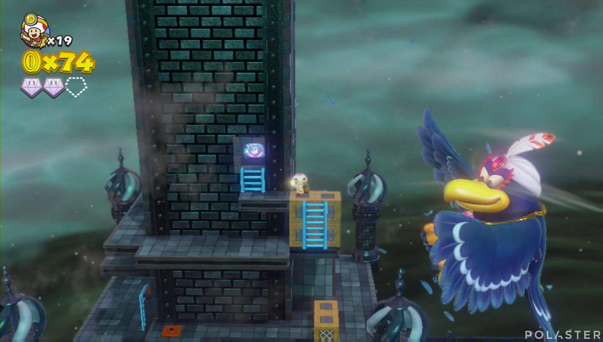 Captain Toad: Treasure Tracker Parte 1 Nivel 18 Superdiamante 3