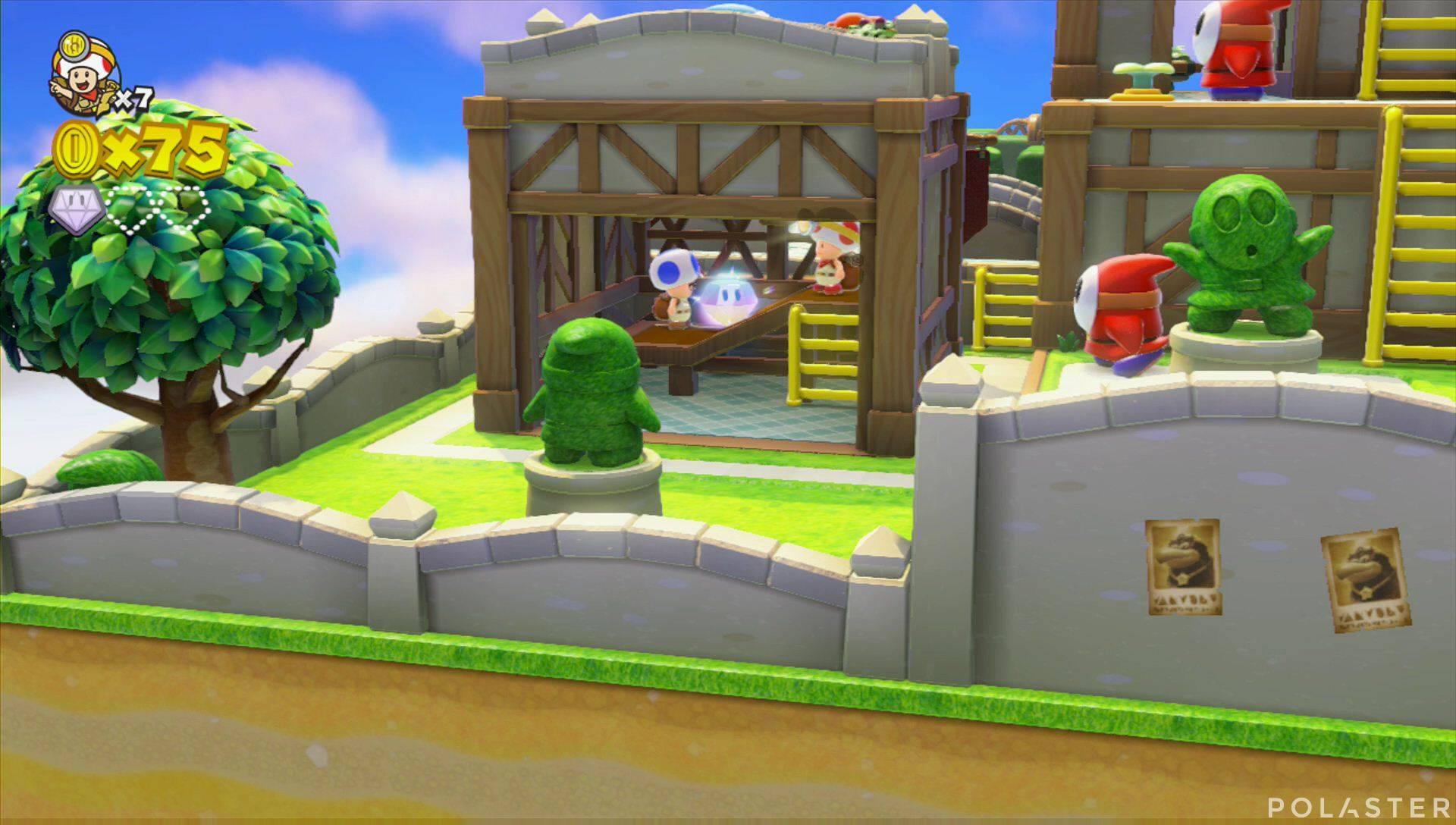 Captain Toad: Treasure Tracker Parte 1 Nivel 6 Superdiamante 2