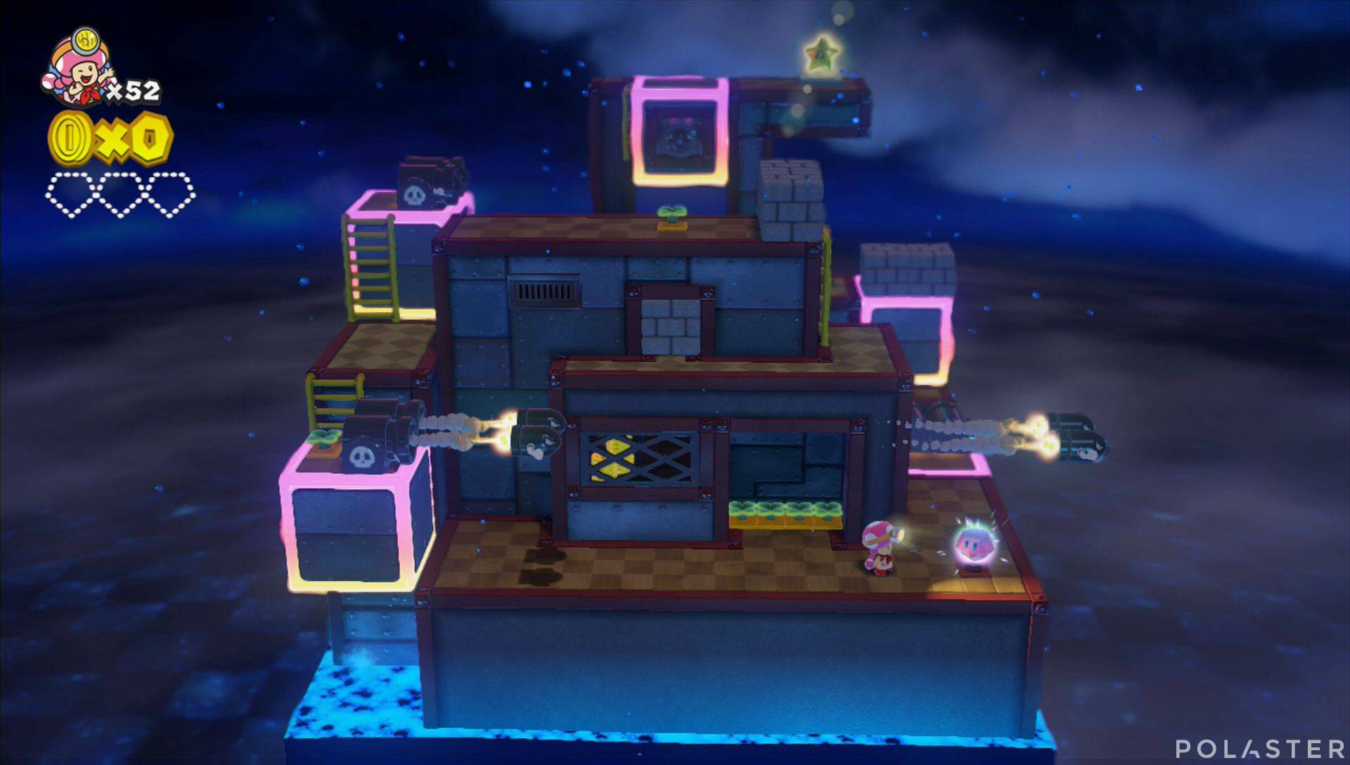 Captain Toad: Treasure Tracker Parte 2 Nivel 16 Superdiamante 1