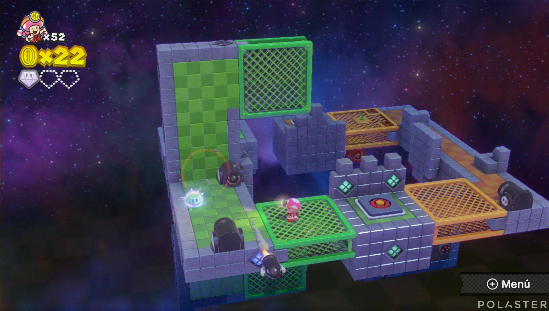 Captain Toad: Treasure Tracker Parte 2 Nivel 17 Superdiamante 2