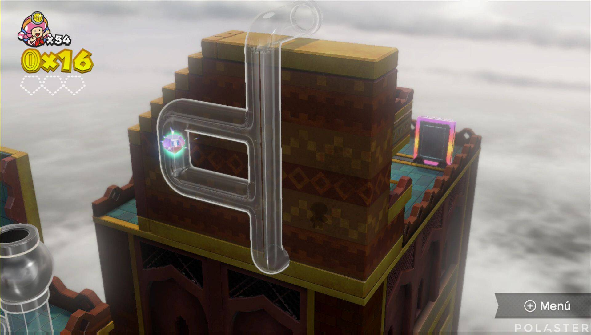 Captain Toad: Treasure Tracker Parte 2 Nivel 18 Superdiamante 1