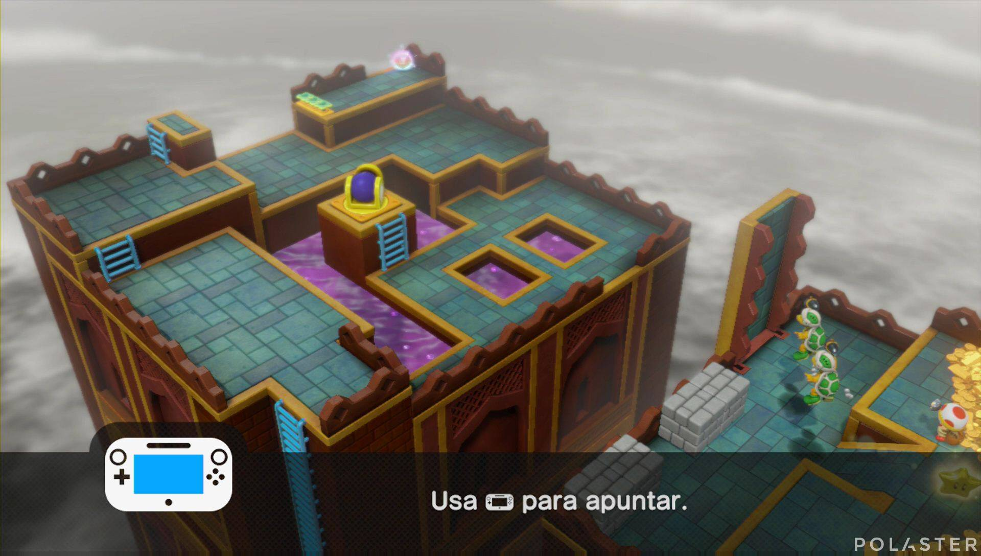 Captain Toad: Treasure Tracker Parte 2 Nivel 18 Superdiamante 3
