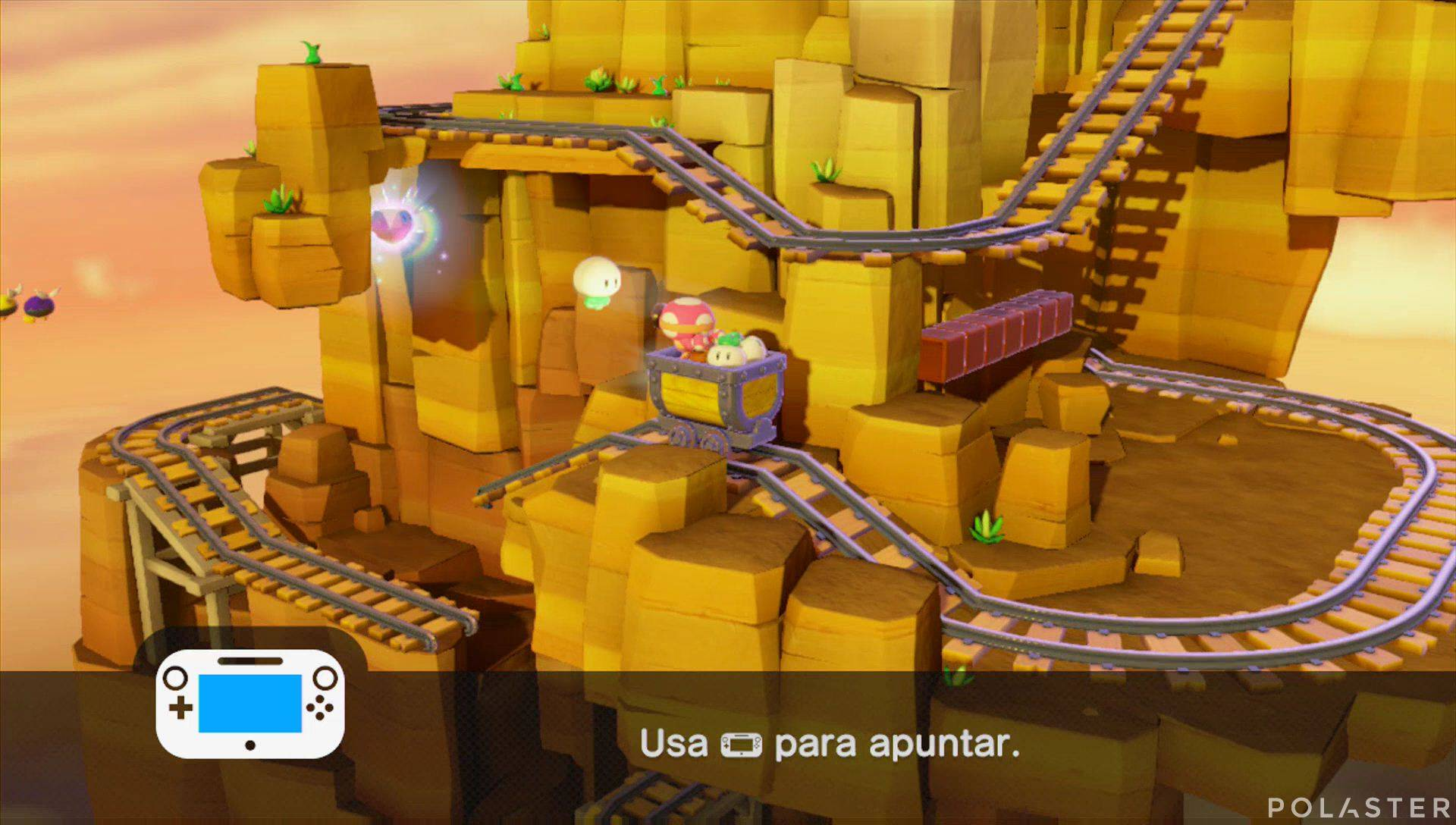 Captain Toad: Treasure Tracker Parte 2 Nivel 3 Superdiamante 2