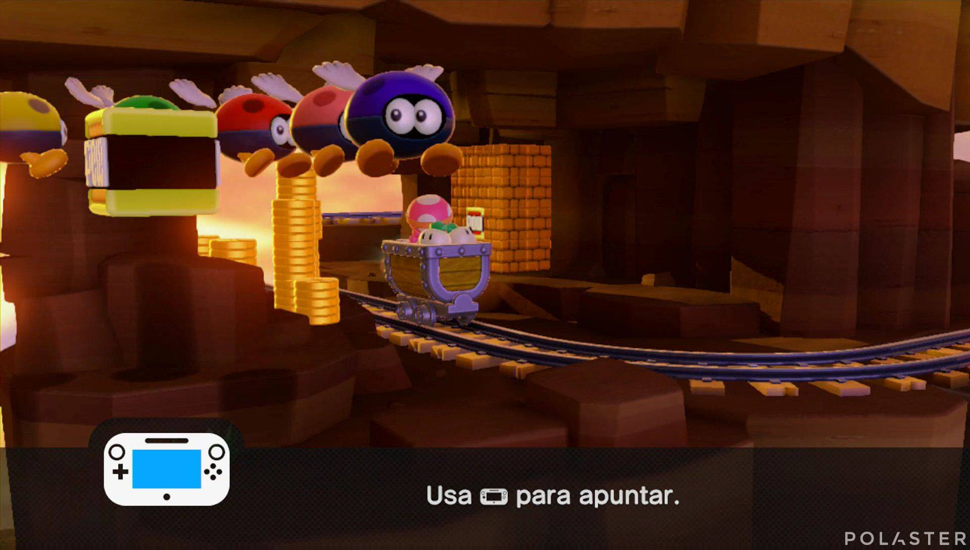 Captain Toad: Treasure Tracker Parte 2 Nivel 3 Superdiamante 3