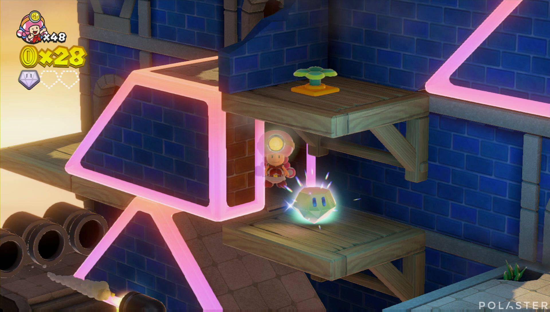 Captain Toad: Treasure Tracker Parte 2 Nivel 7 Superdiamante 2