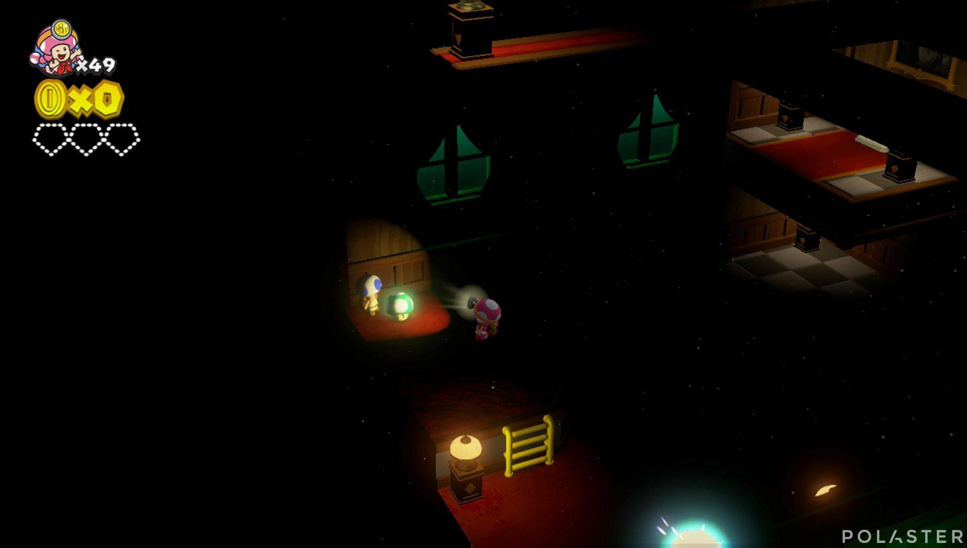Captain Toad: Treasure Tracker Parte 2 Nivel 8 Champiñón vida extra
