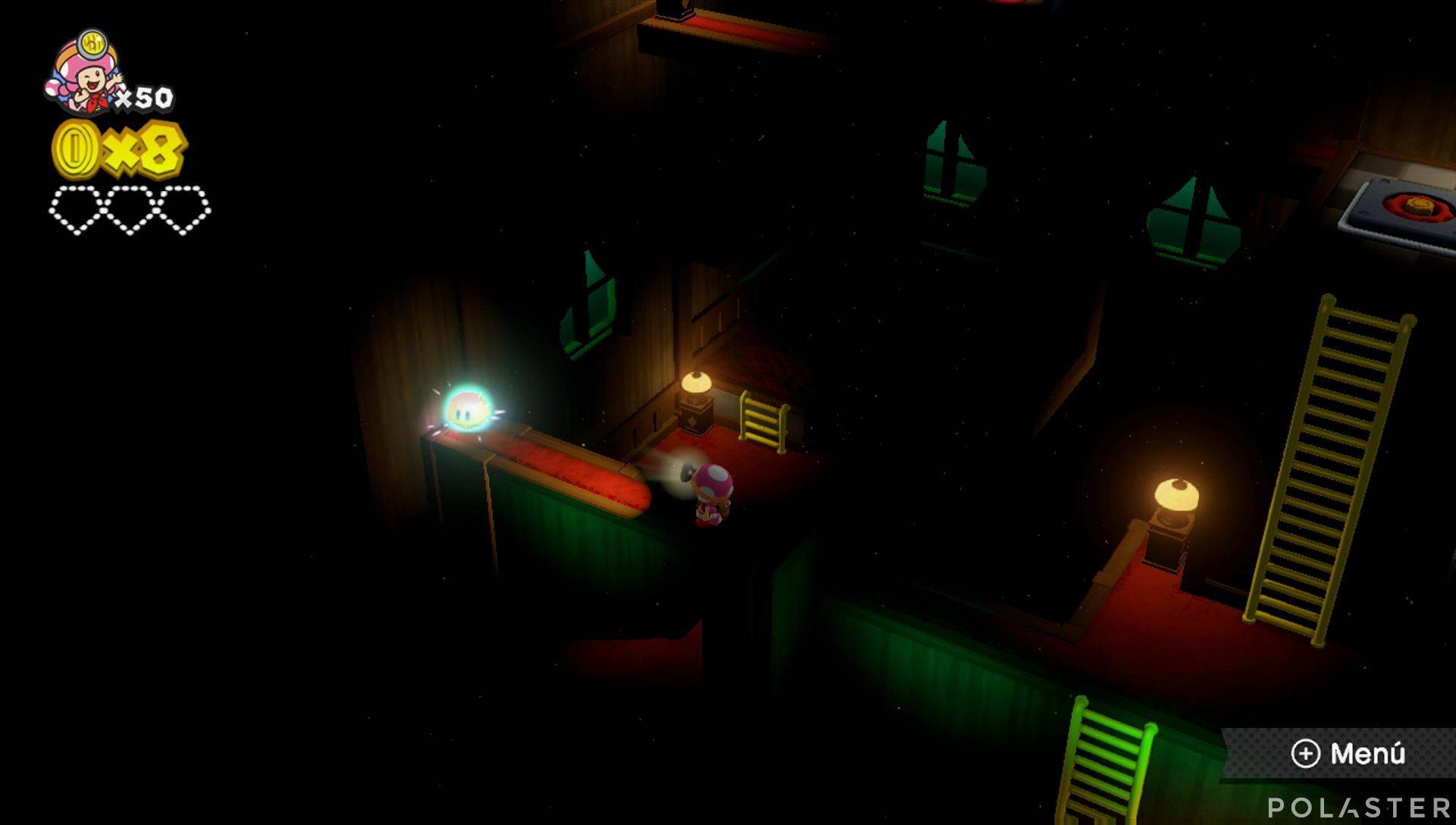 Captain Toad: Treasure Tracker Parte 2 Nivel 8 Superdiamante 1