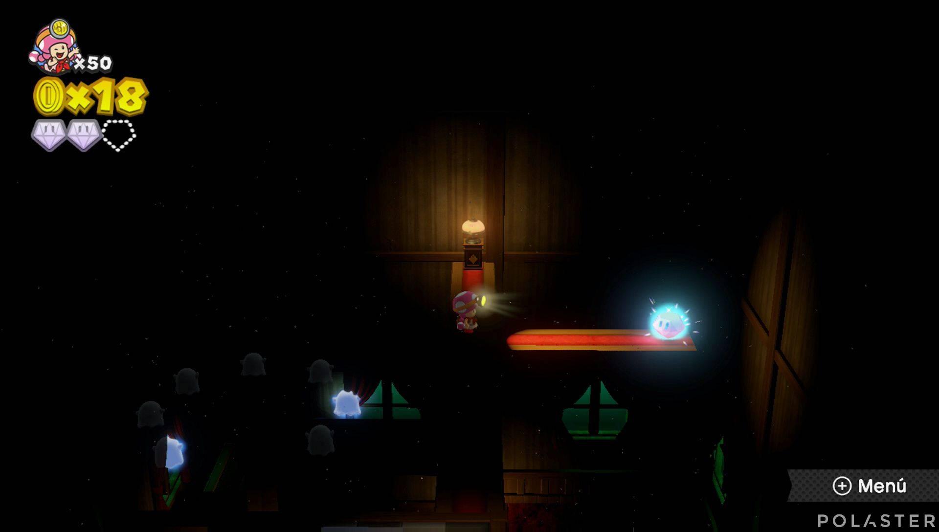 Captain Toad: Treasure Tracker Parte 2 Nivel 8 Superdiamante 3