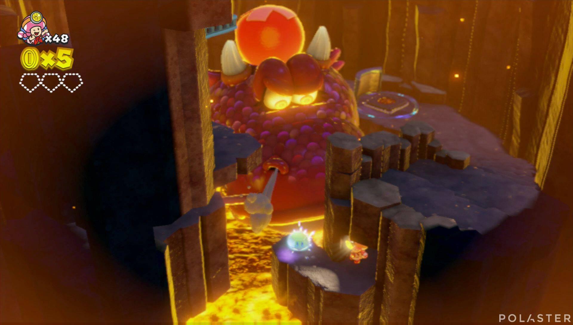 Captain Toad: Treasure Tracker Parte 2 Nivel 9 Superdiamante 1