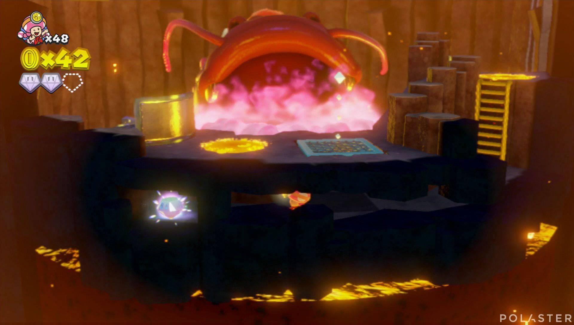 Captain Toad: Treasure Tracker Parte 2 Nivel 9 Superdiamante 3