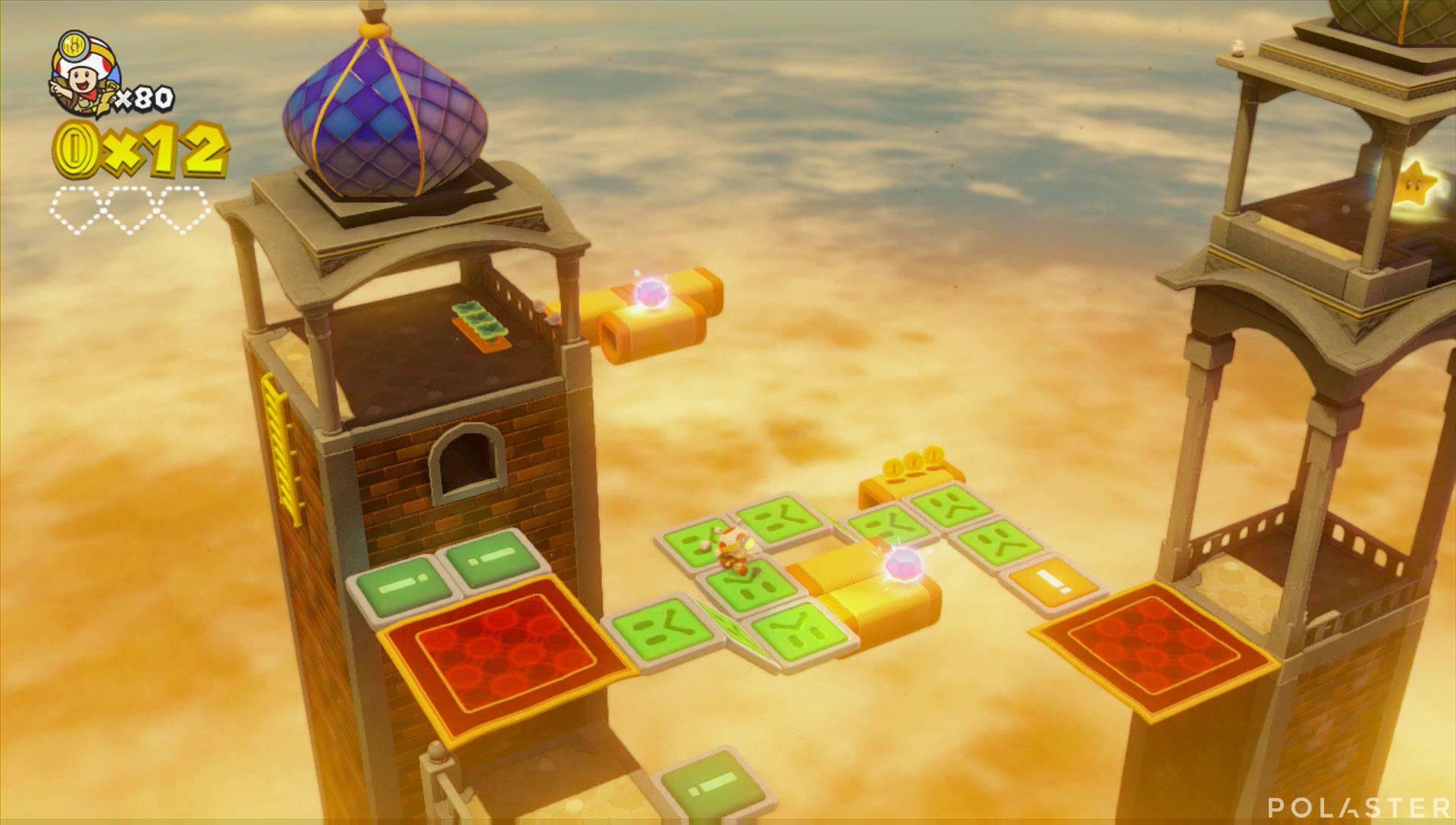 Captain Toad: Treasure Tracker Parte 3 Nivel 11 Superdiamante 1