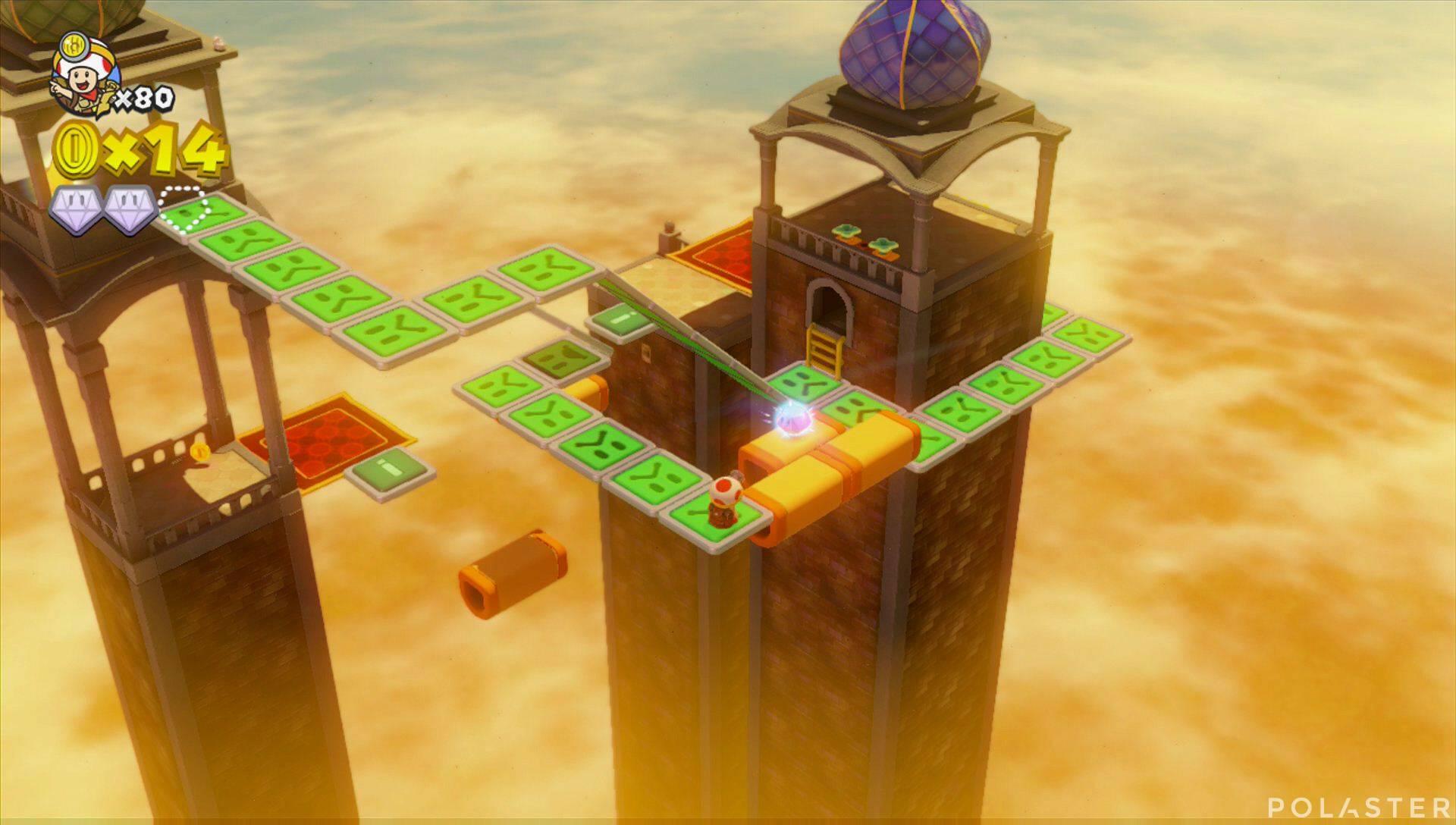Captain Toad: Treasure Tracker Parte 3 Nivel 11 Superdiamante 3