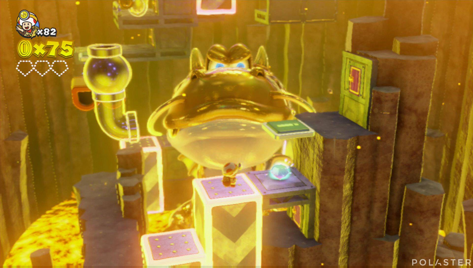 Captain Toad: Treasure Tracker Parte 3 Nivel 13 Superdiamante 1
