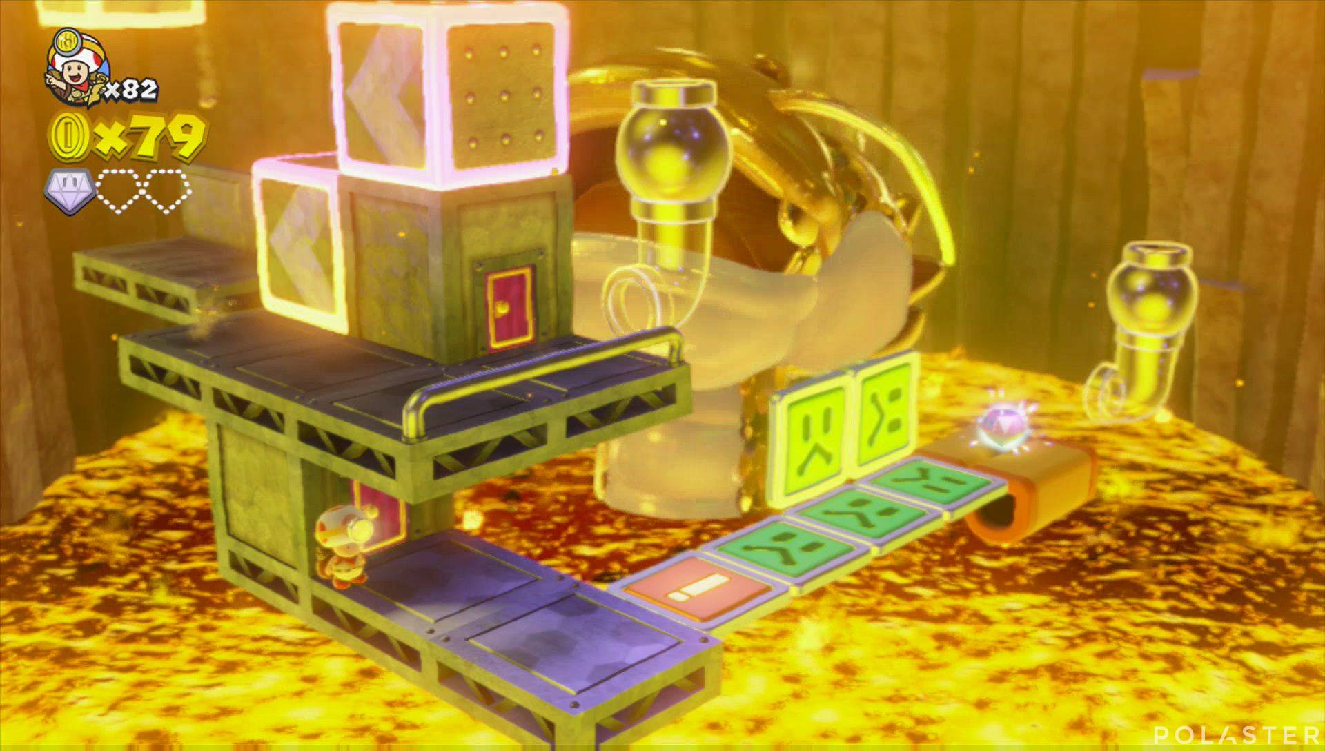 Captain Toad: Treasure Tracker Parte 3 Nivel 13 Superdiamante 2