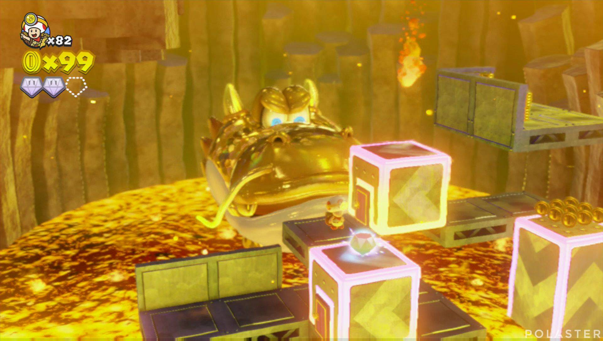 Captain Toad: Treasure Tracker Parte 3 Nivel 13 Superdiamante 3