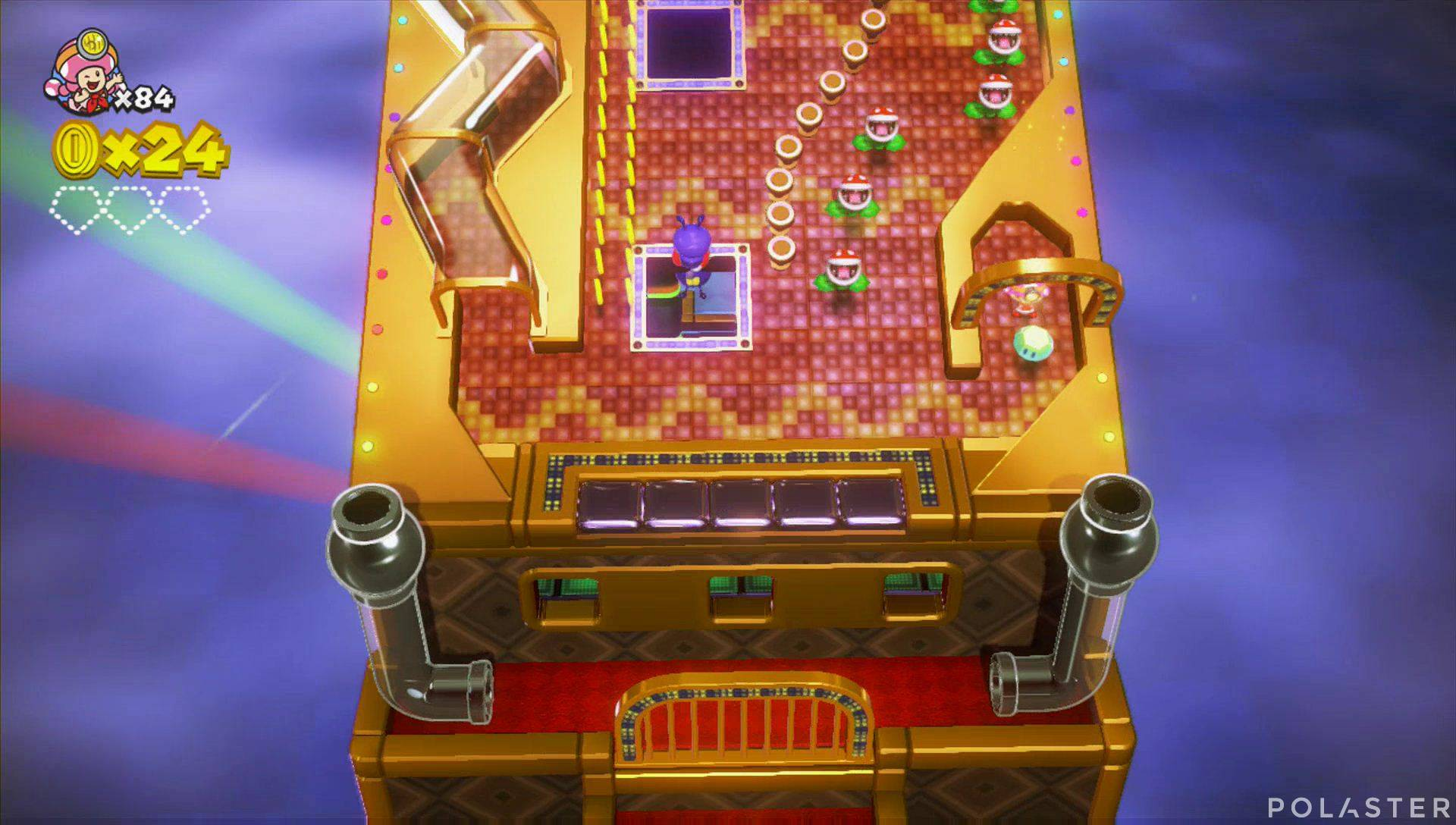 Captain Toad: Treasure Tracker Parte 3 Nivel 15 Superdiamante 1