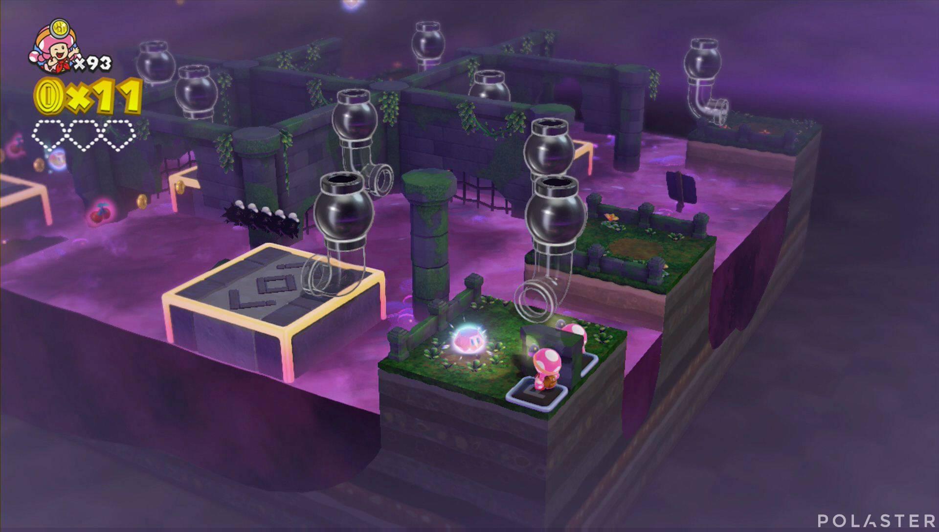 Captain Toad: Treasure Tracker Parte 3 Nivel 16 Superdiamante 1