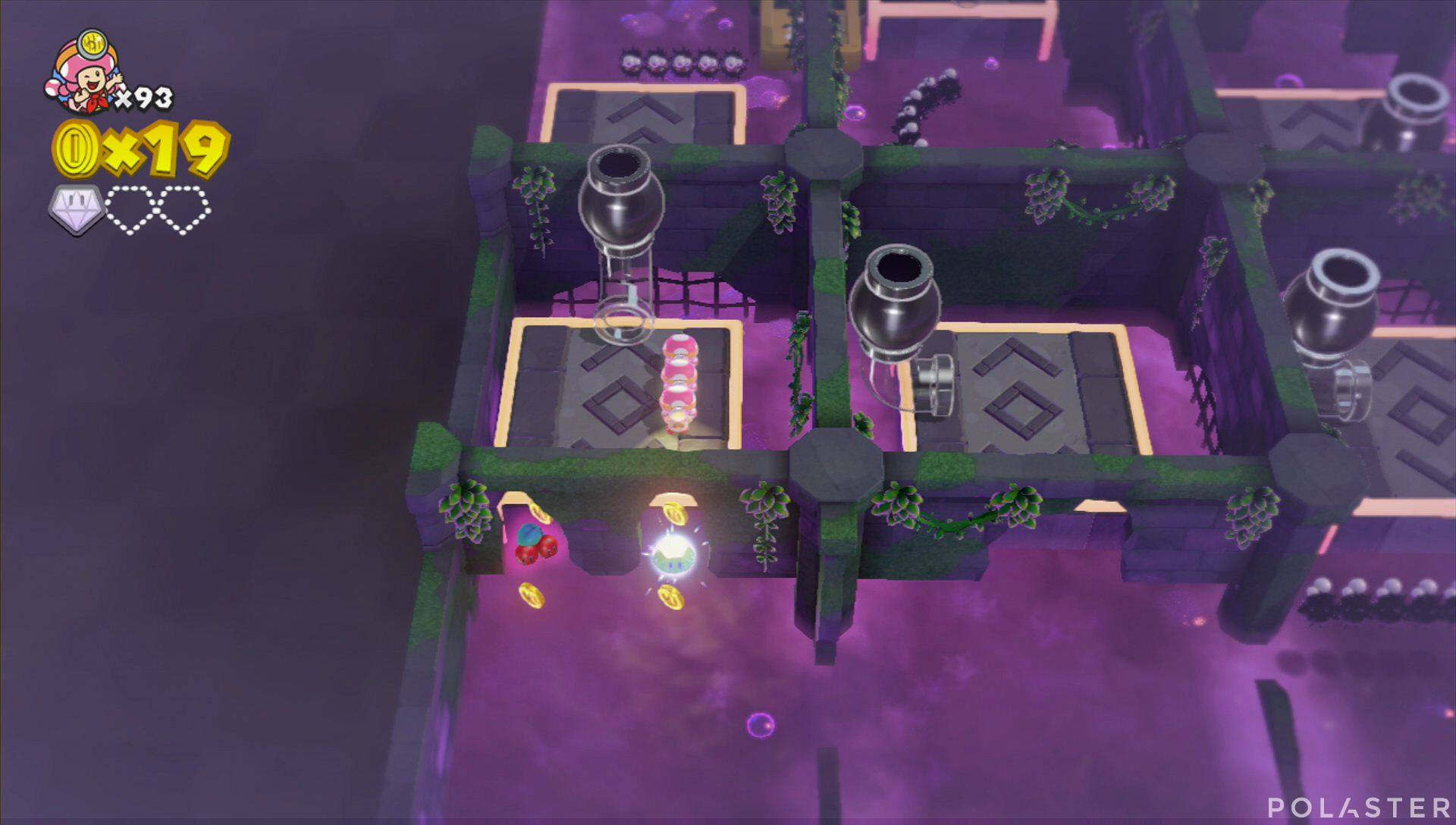 Captain Toad: Treasure Tracker Parte 3 Nivel 16 Superdiamante 2