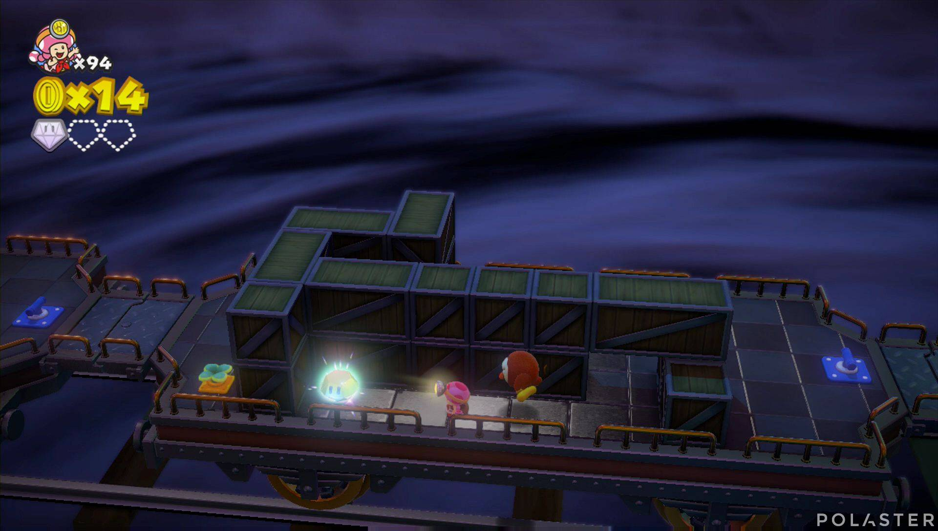 Captain Toad: Treasure Tracker Parte 3 Nivel 17 Superdiamante 2