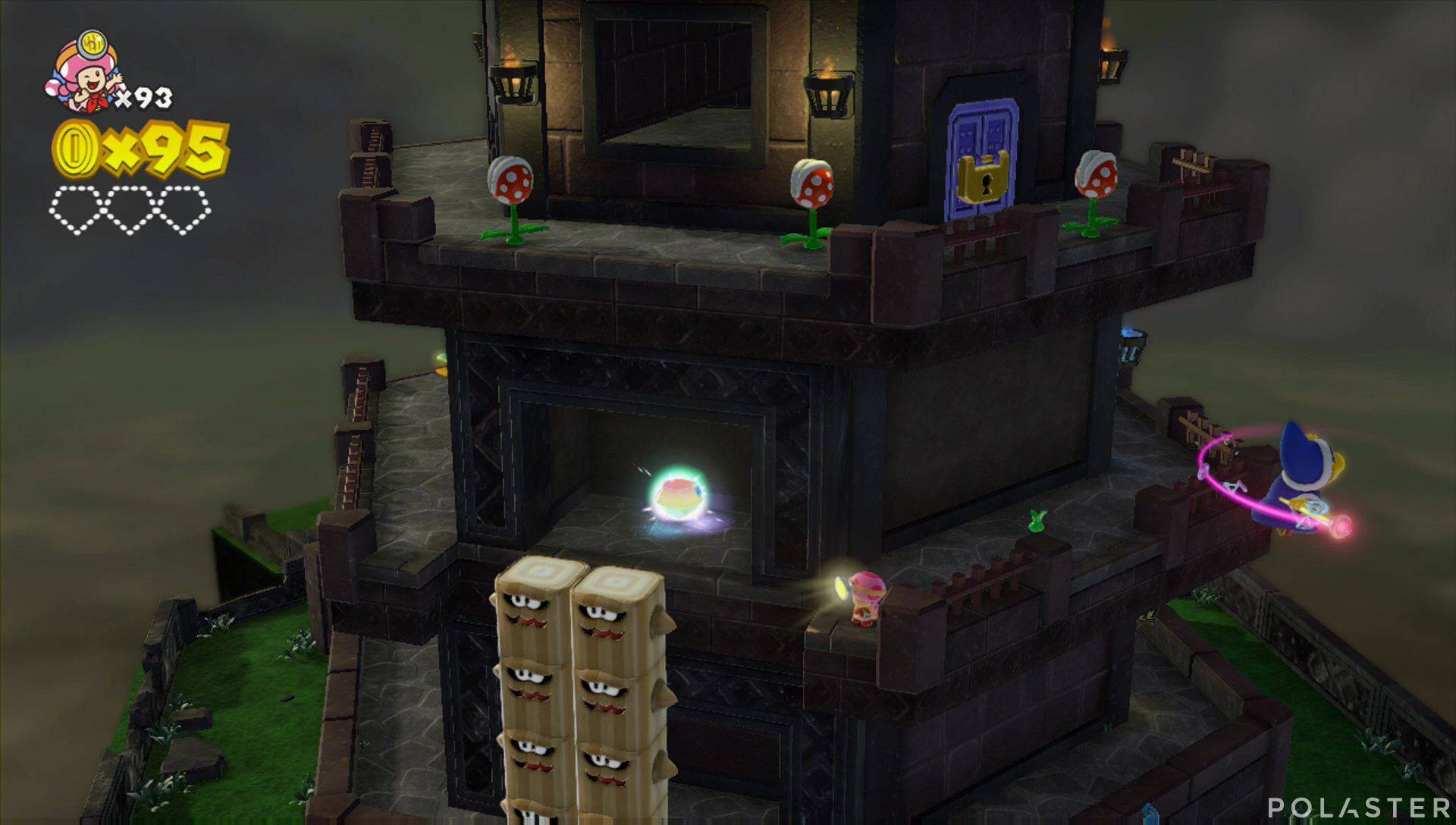Captain Toad: Treasure Tracker Parte 3 Nivel 18 Superdiamante 1