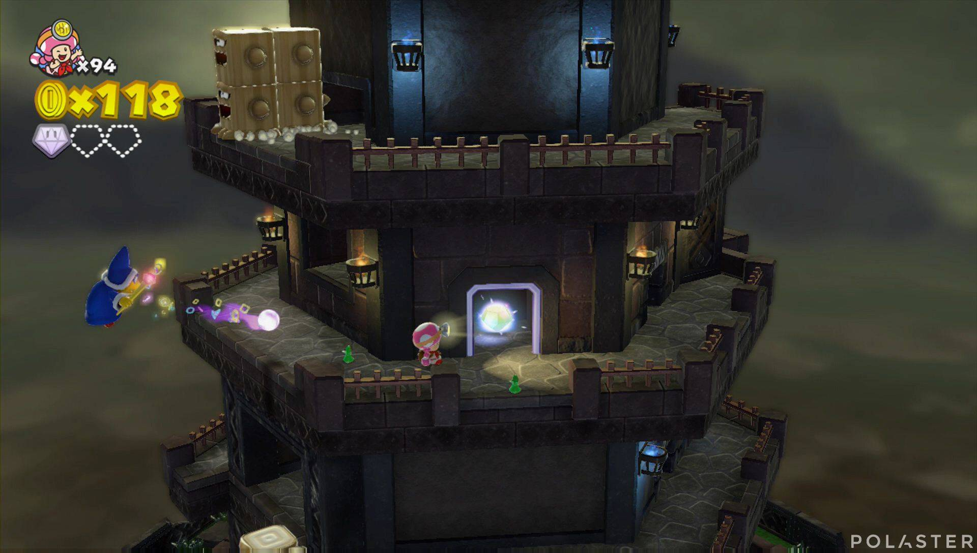 Captain Toad: Treasure Tracker Parte 3 Nivel 18 Superdiamante 2