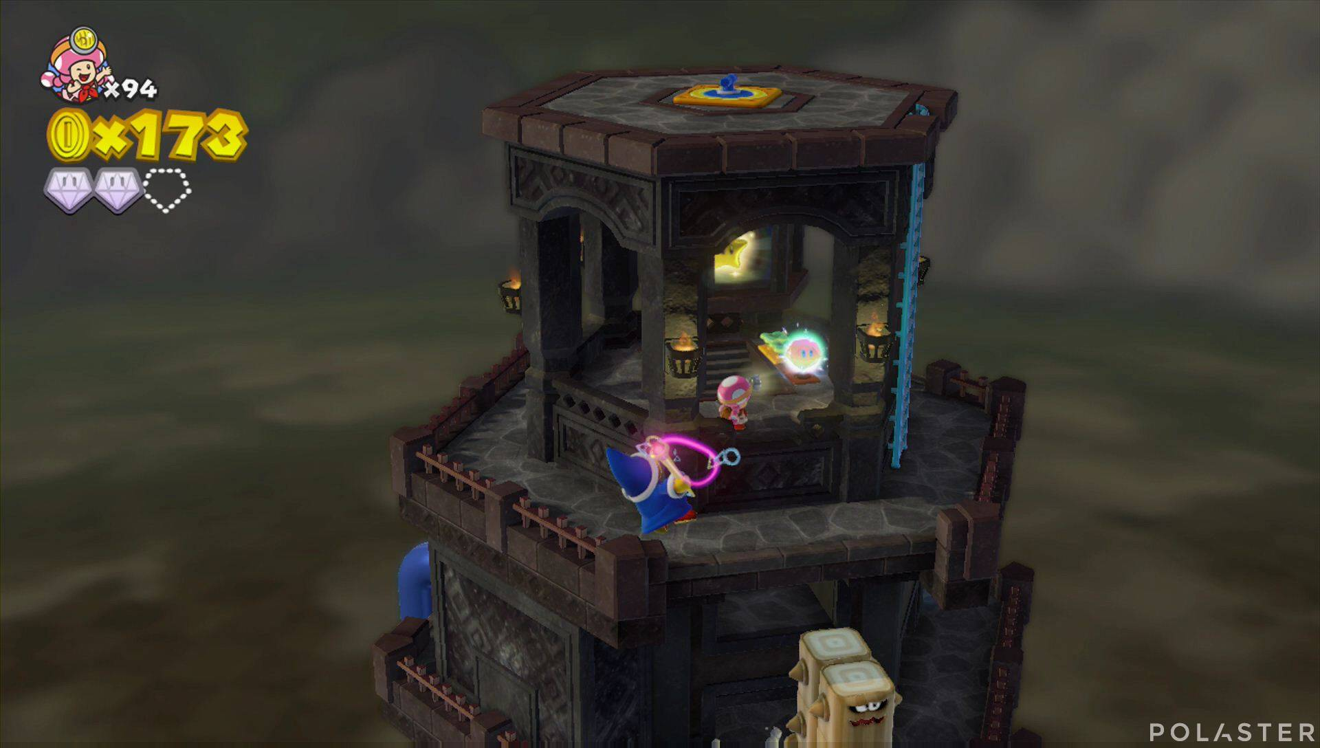 Captain Toad: Treasure Tracker Parte 3 Nivel 18 Superdiamante 3