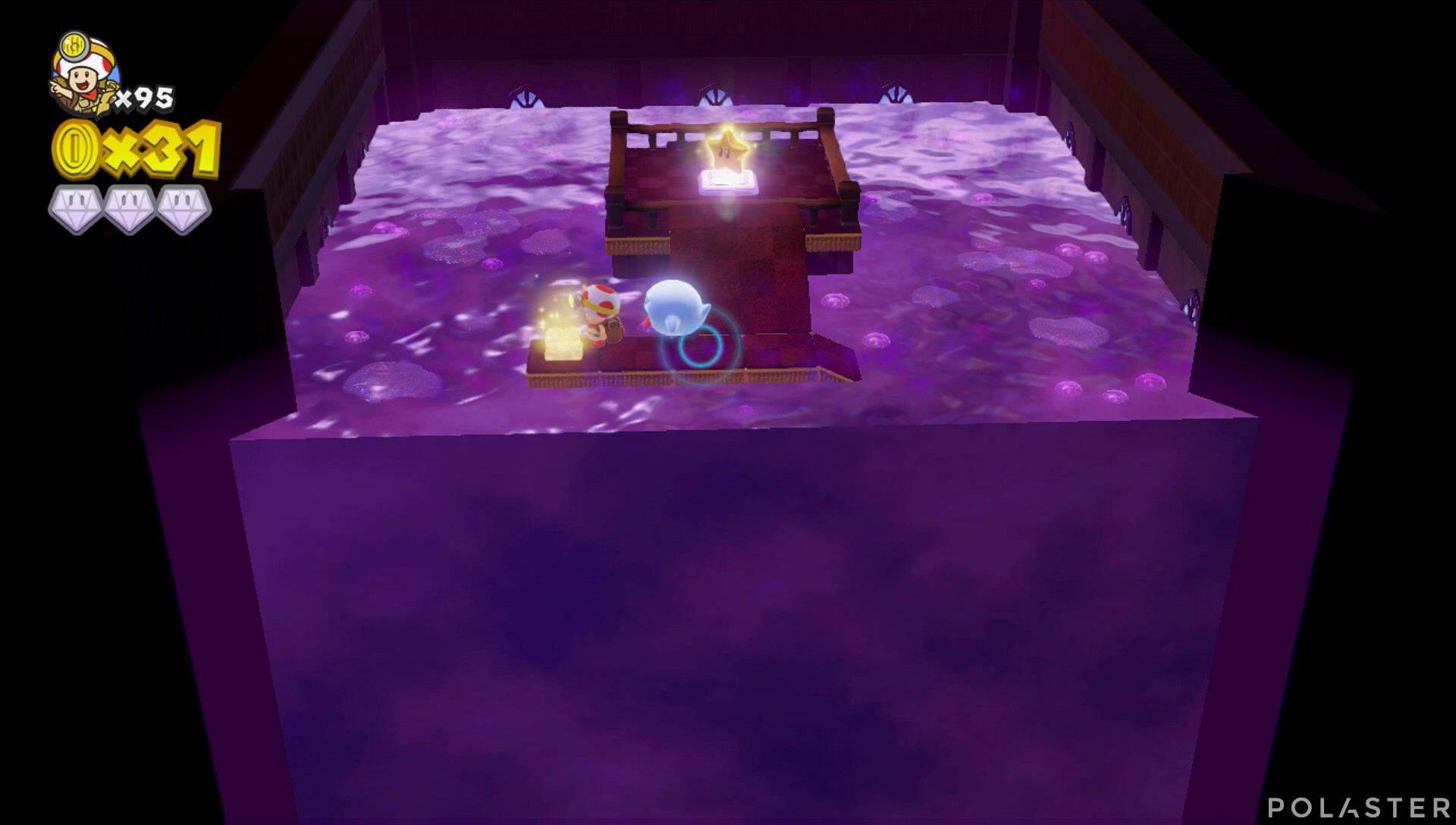 Captain Toad: Treasure Tracker Parte 3 Nivel 21 Champiñón dorado