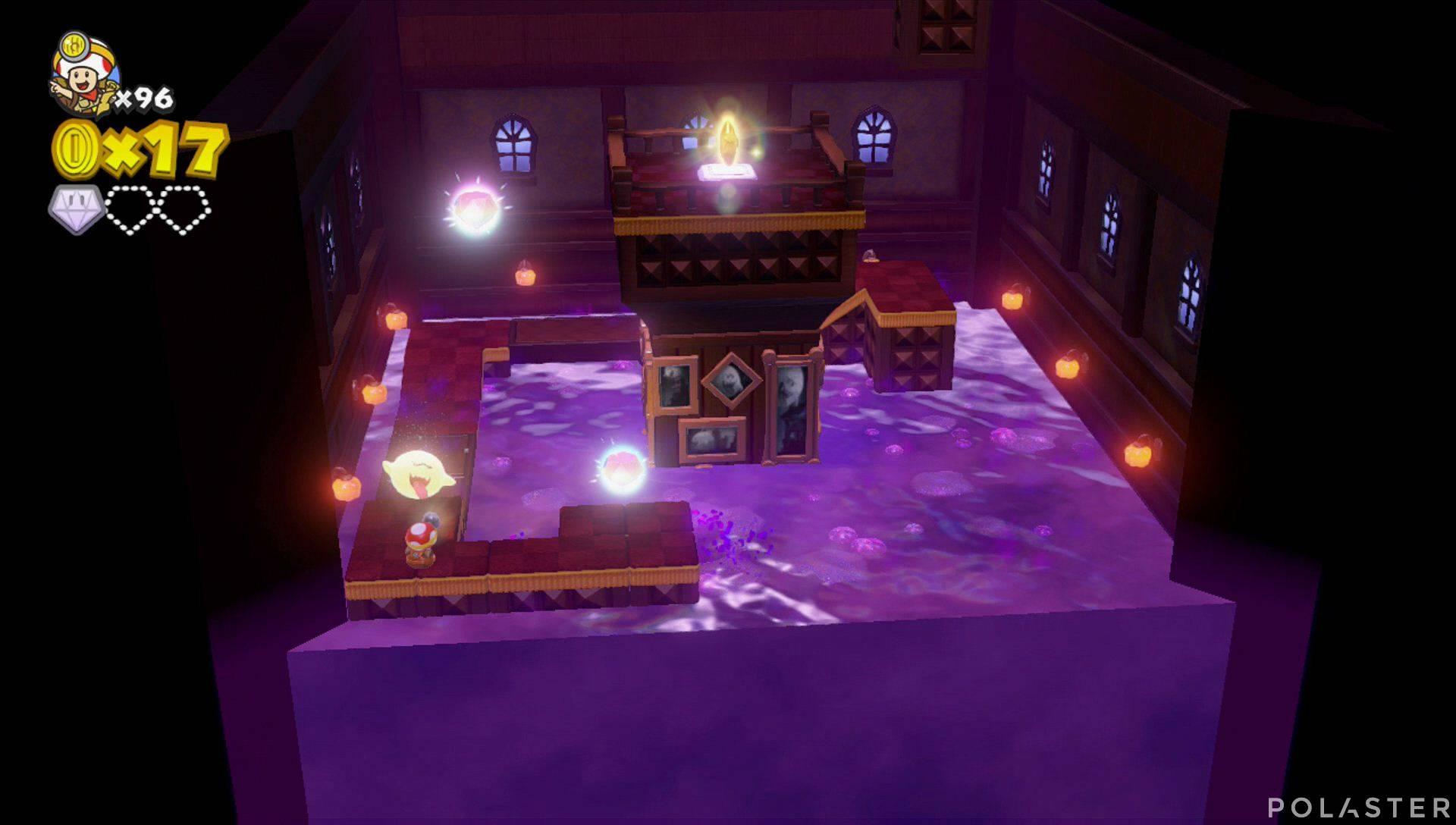 Captain Toad: Treasure Tracker Parte 3 Nivel 21 Superdiamante 2