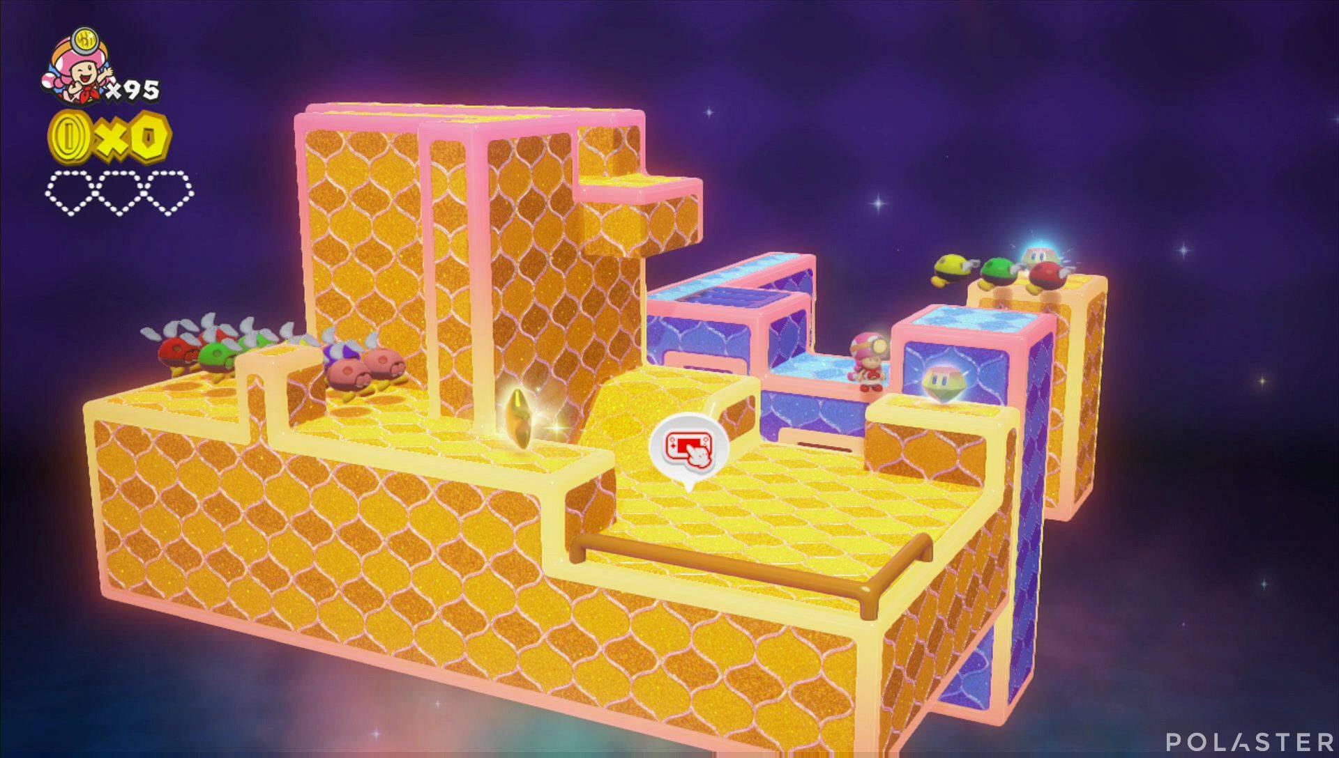 Captain Toad: Treasure Tracker Parte 3 Nivel 22 Superdiamante 1