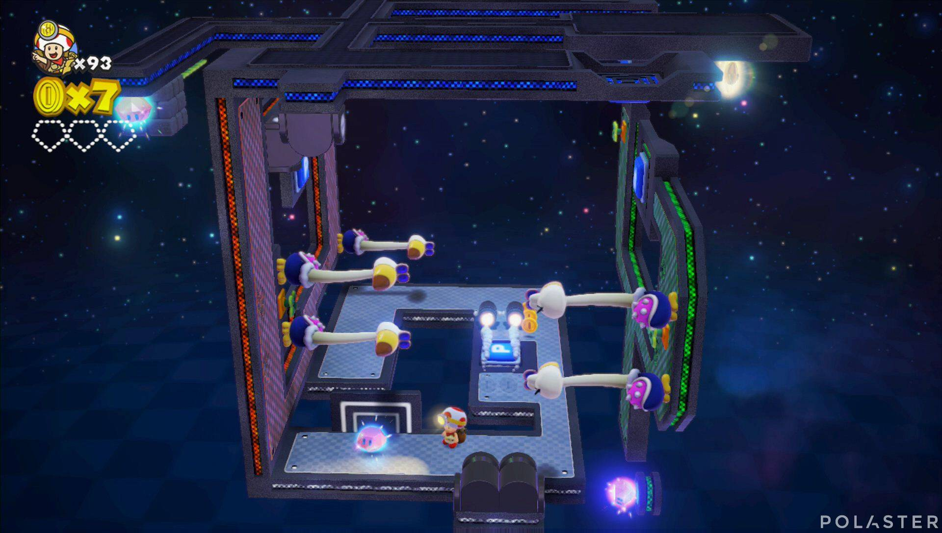 Captain Toad: Treasure Tracker Parte 3 Nivel 25 Superdiamante 1
