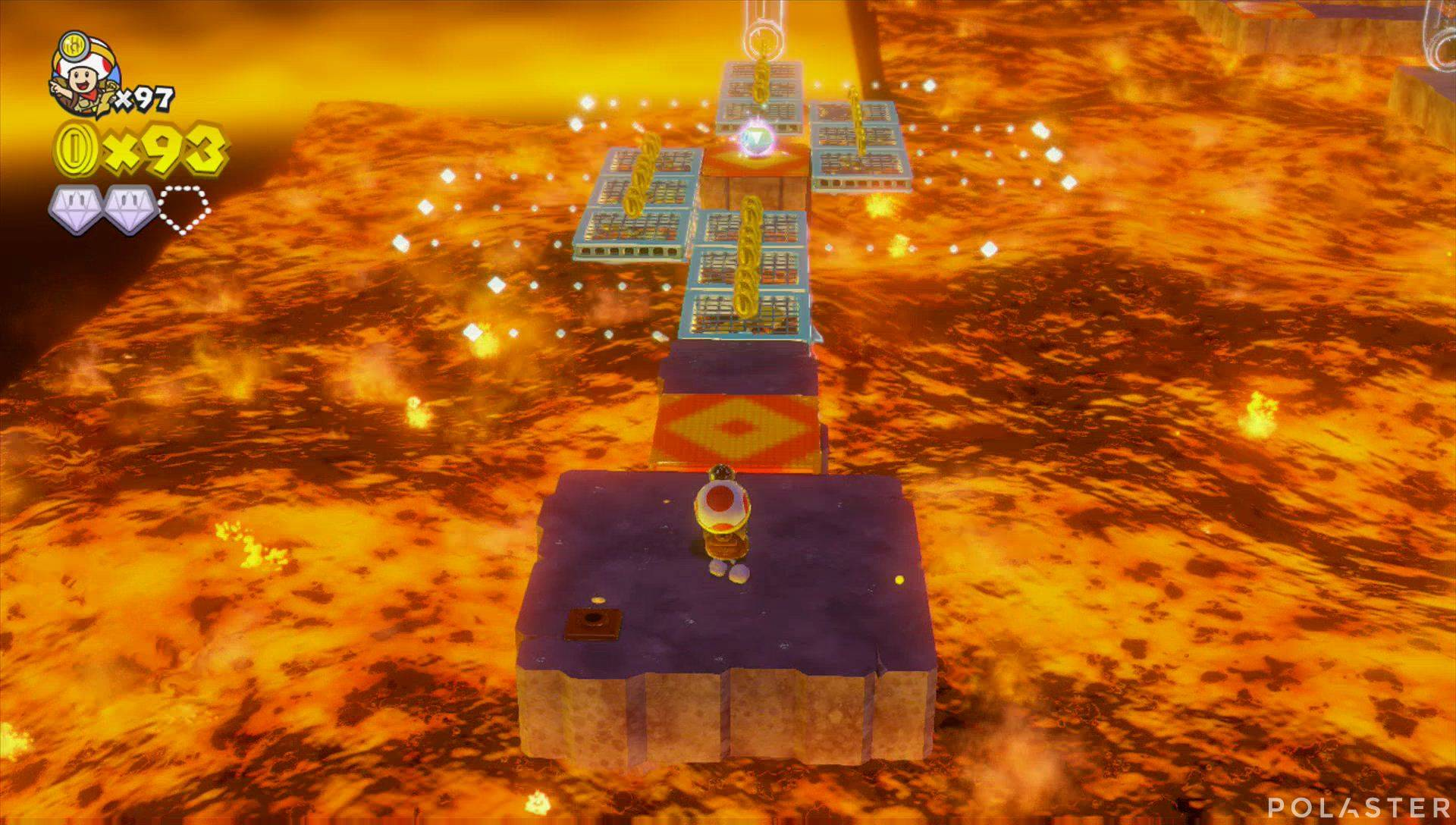 Captain Toad: Treasure Tracker Parte 3 Nivel 26 Superdiamante 3
