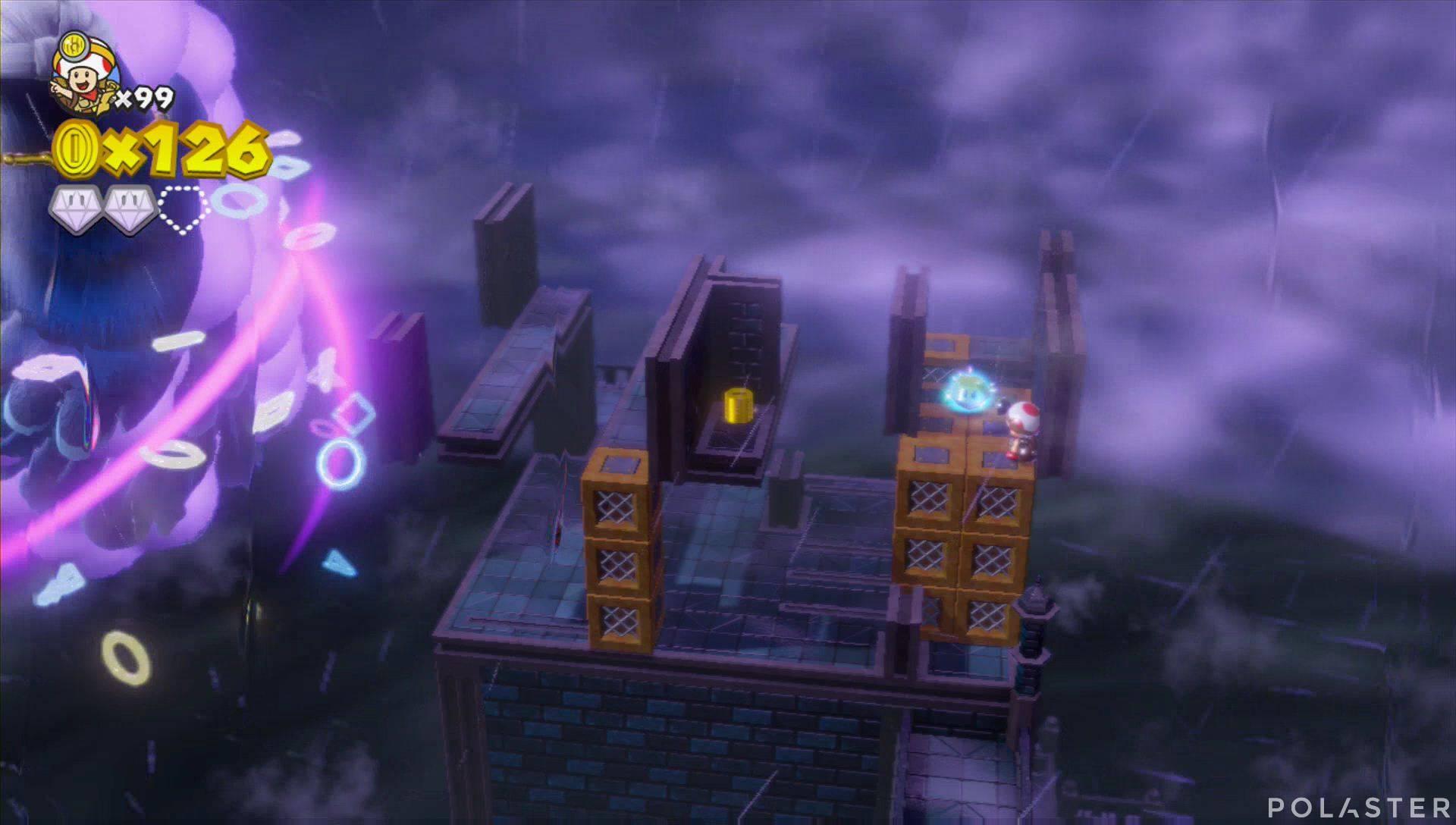 Captain Toad: Treasure Tracker Parte 3 Nivel 28 Superdiamante 3
