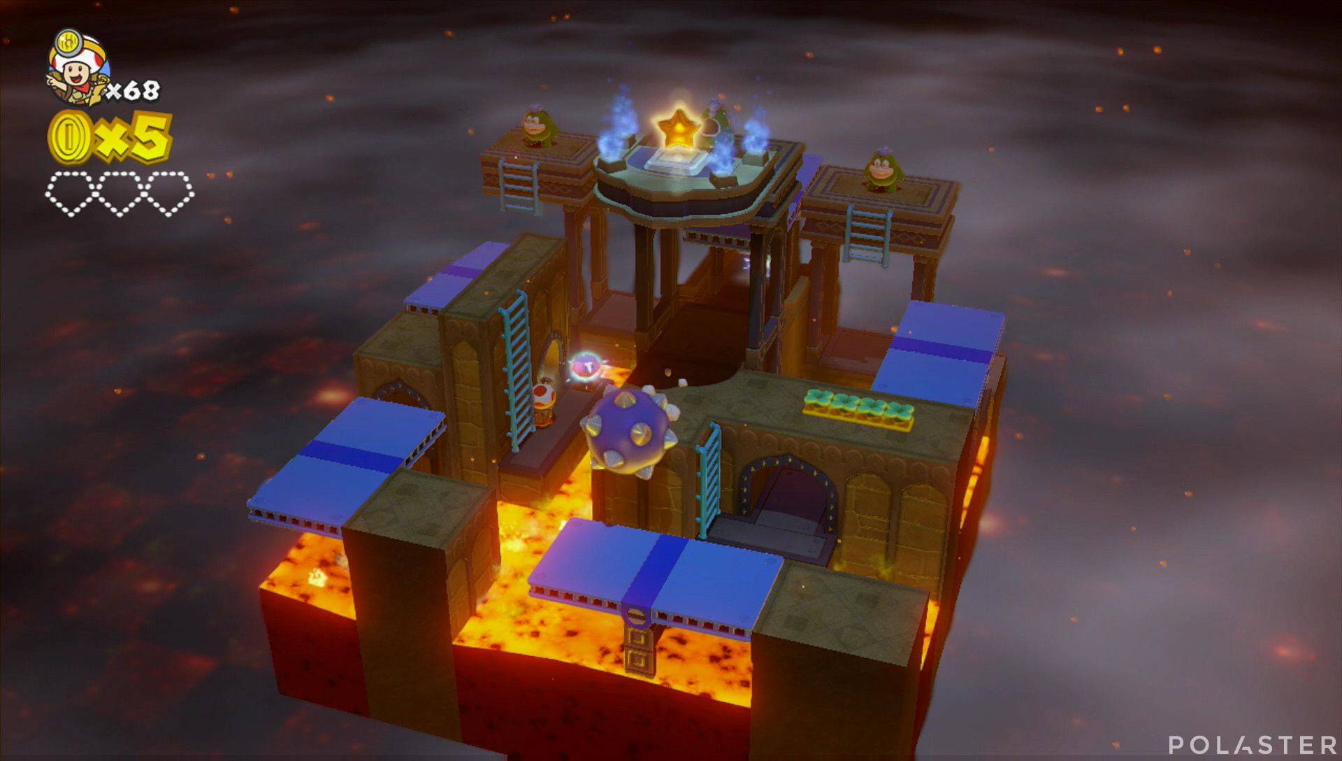 Captain Toad: Treasure Tracker Parte 3 Nivel 2 Superdiamante 1