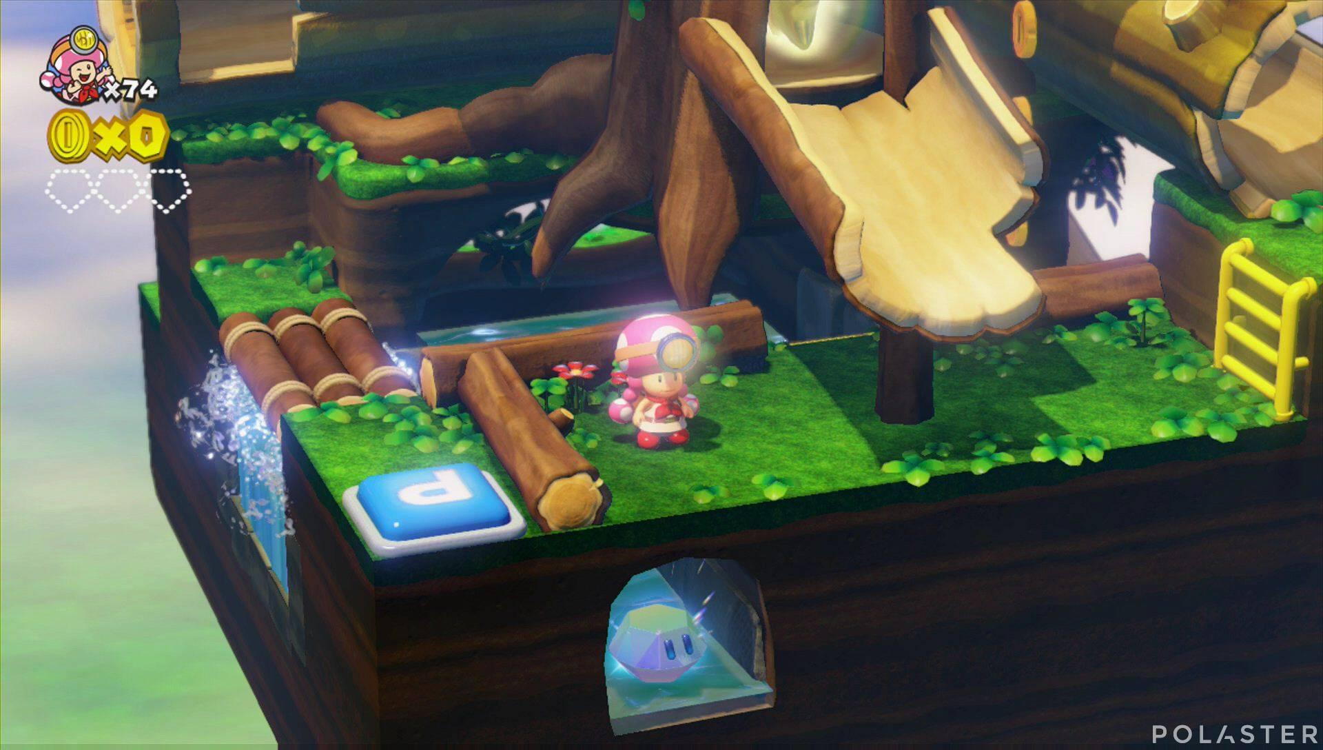 Captain Toad: Treasure Tracker Parte 3 Nivel 5 Superdiamante 1