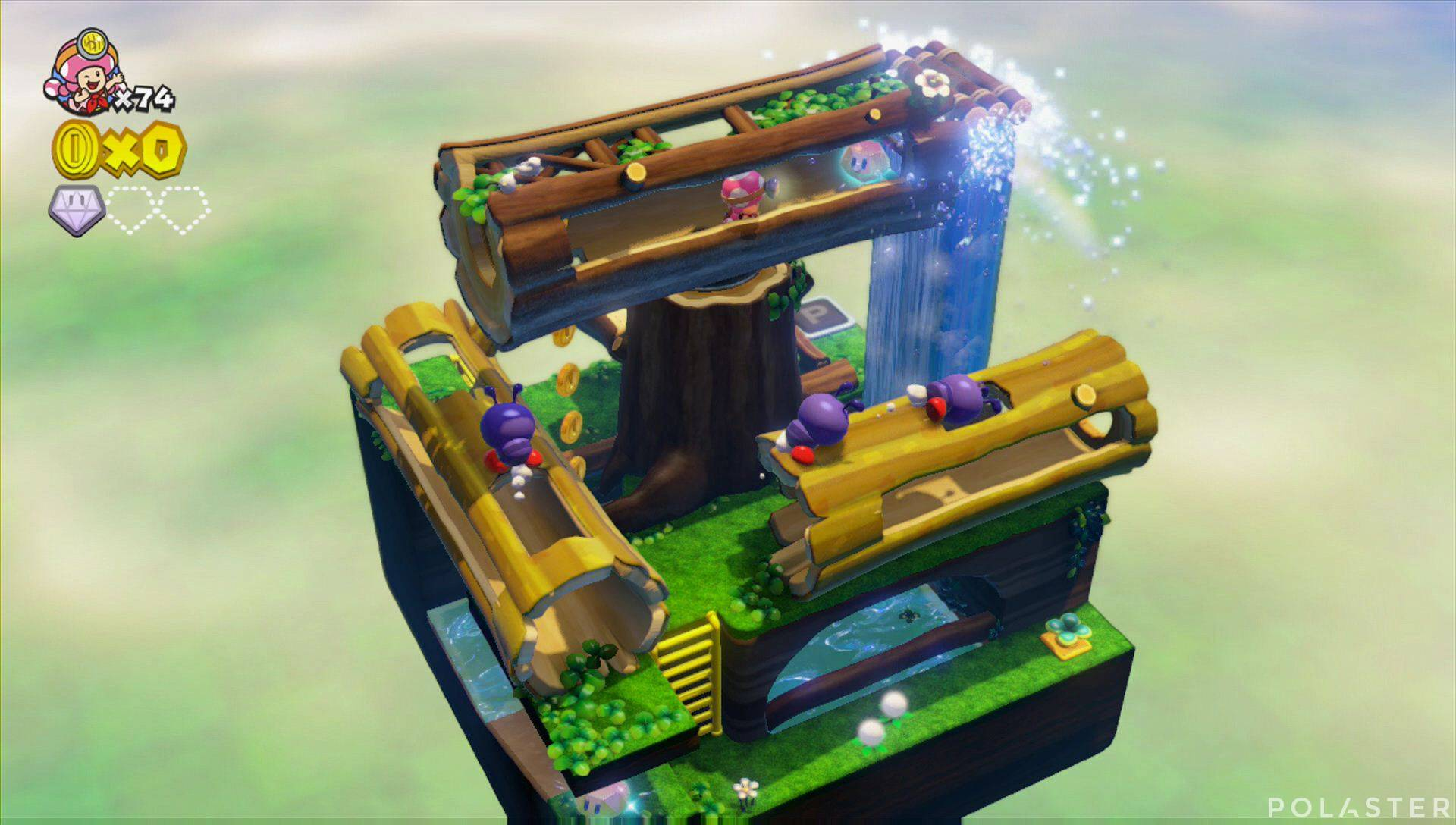 Captain Toad: Treasure Tracker Parte 3 Nivel 5 Superdiamante 2